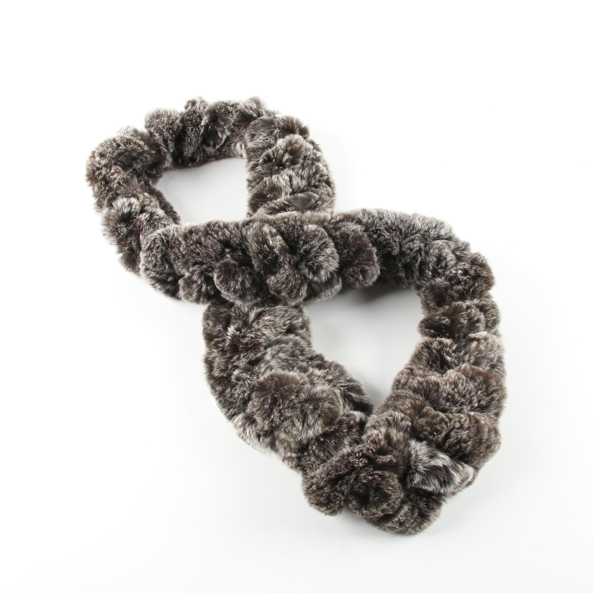 Women's Bella Fare Rex Rabbit Fur Infinity Scarf