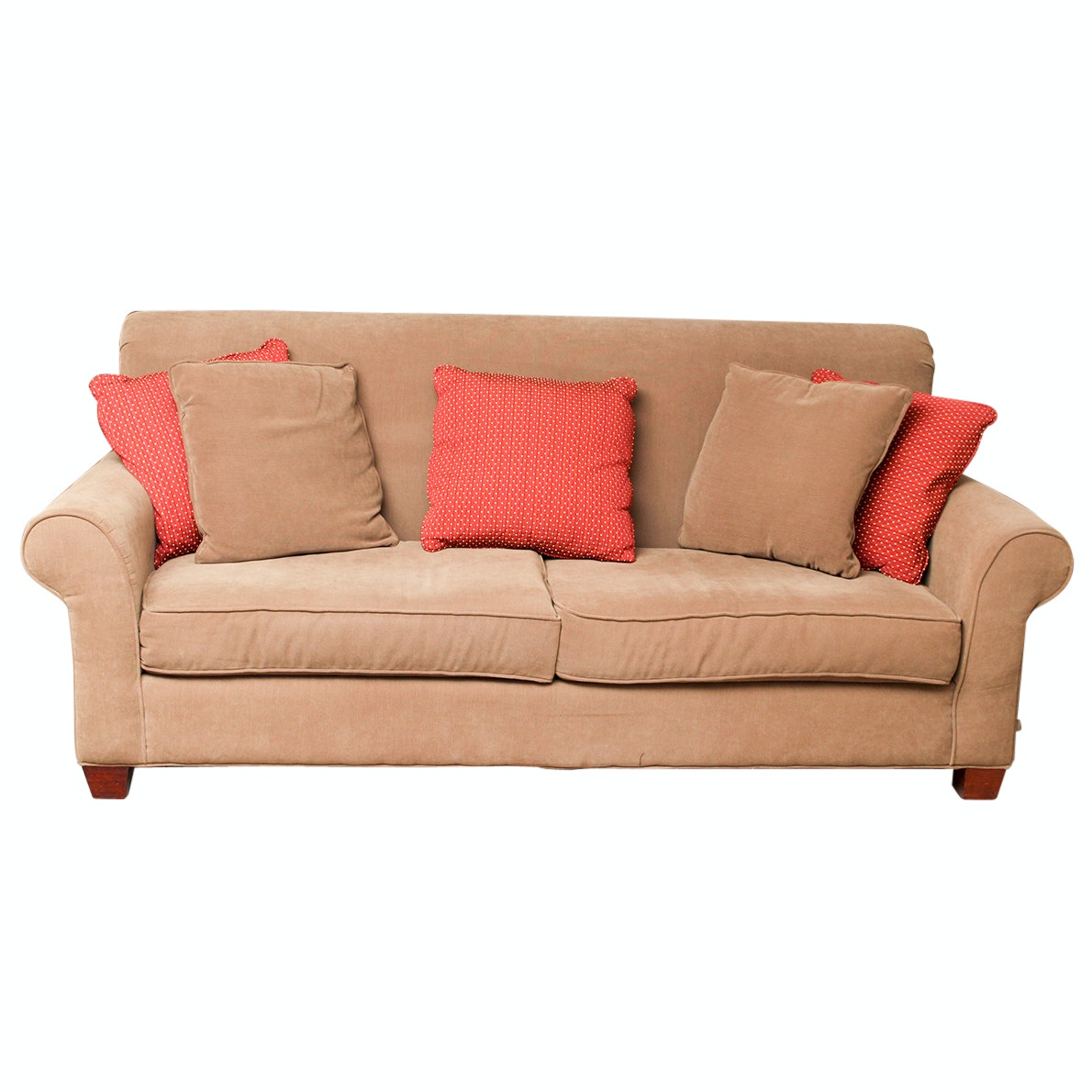 Craftmaster Chenille Sofa