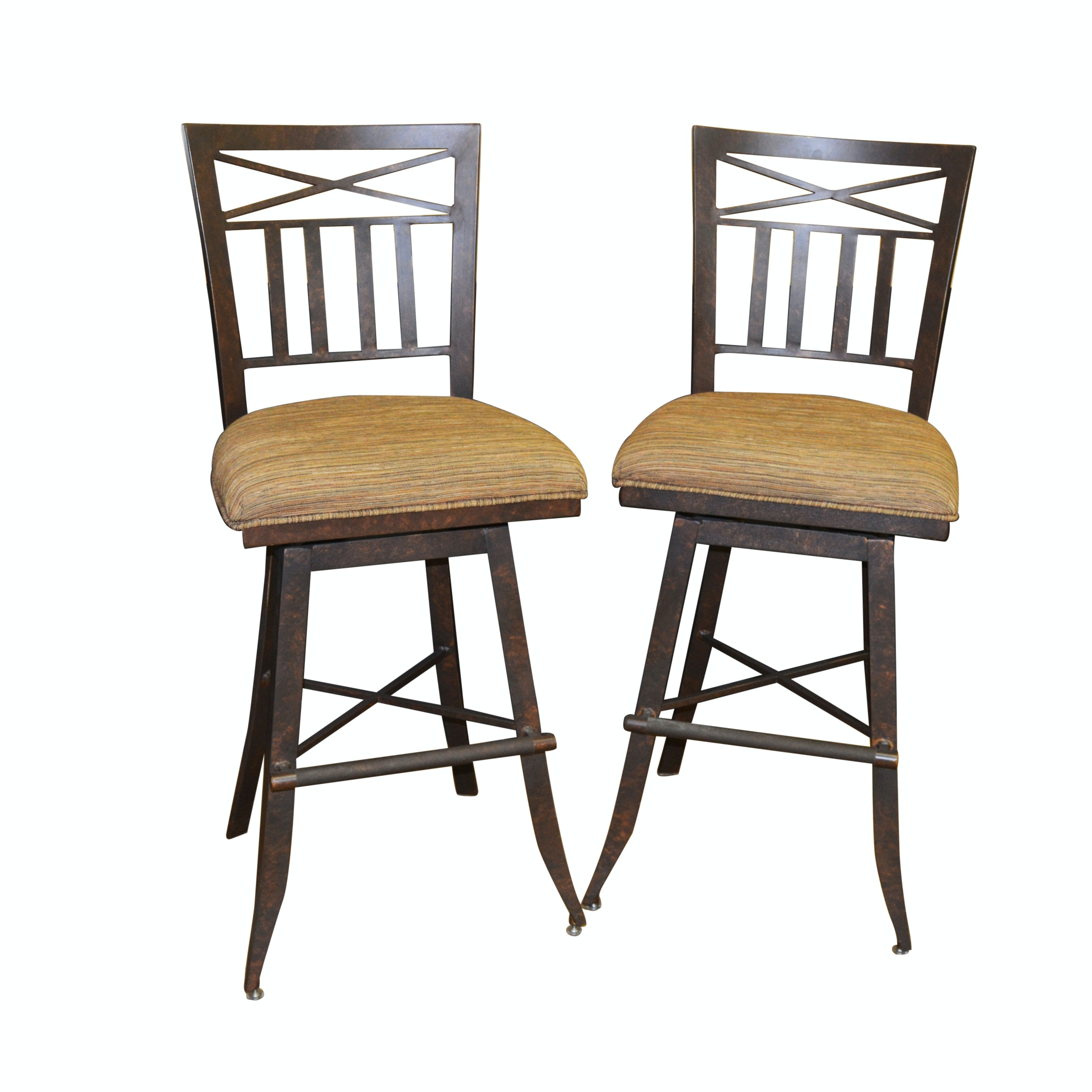 Metal Swivel Seat Bar Stools