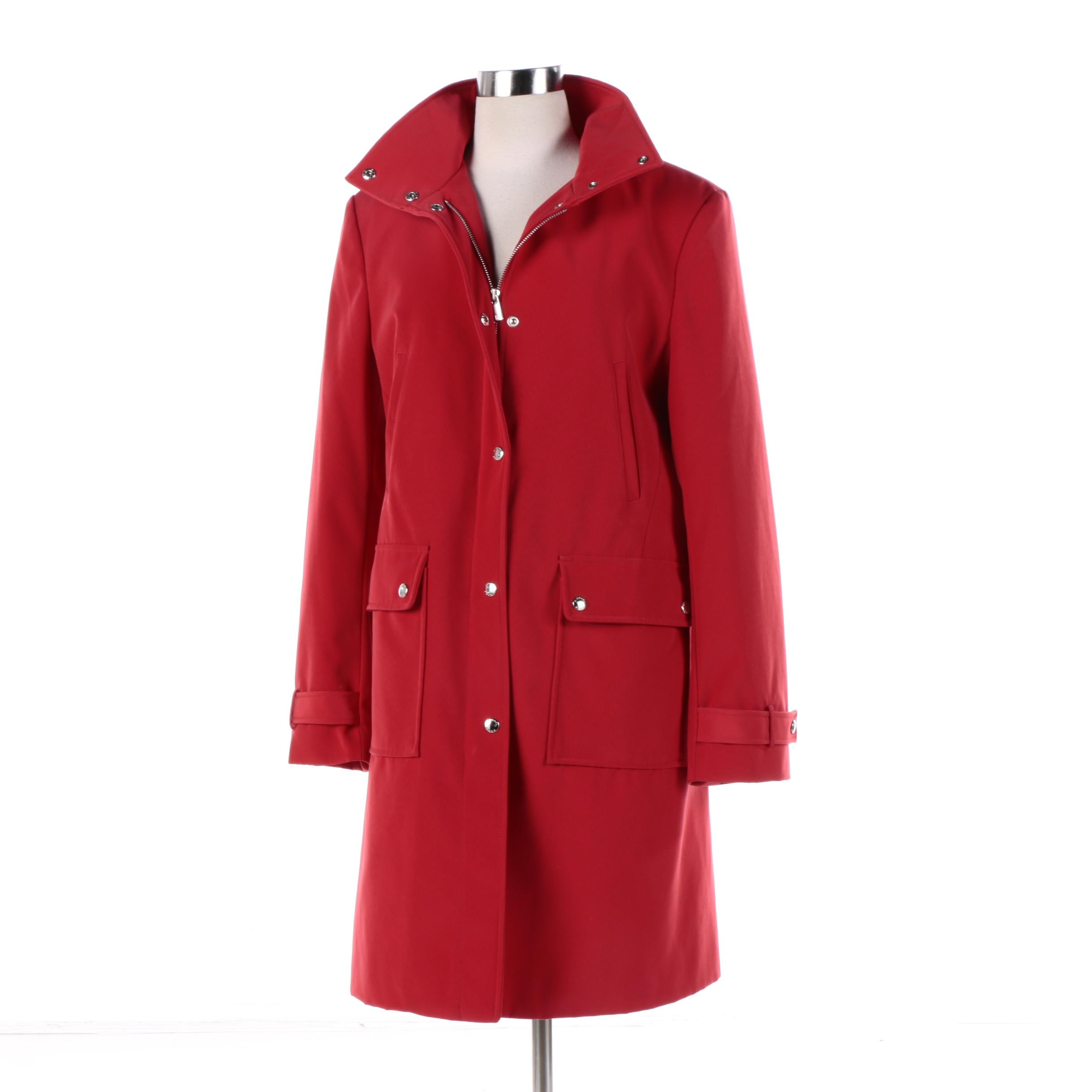 Women's MICHAEL Michael Kors Red Coat