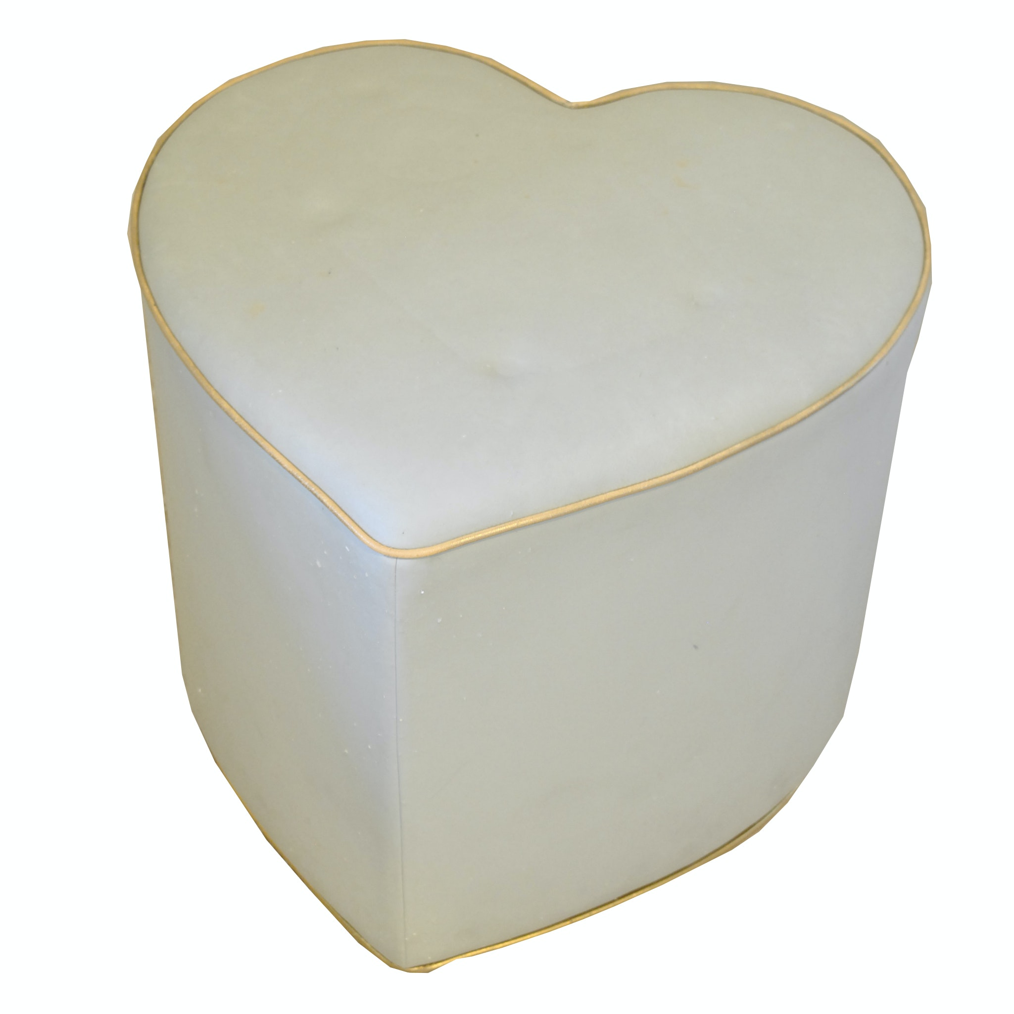 Heart Shaped Ottoman