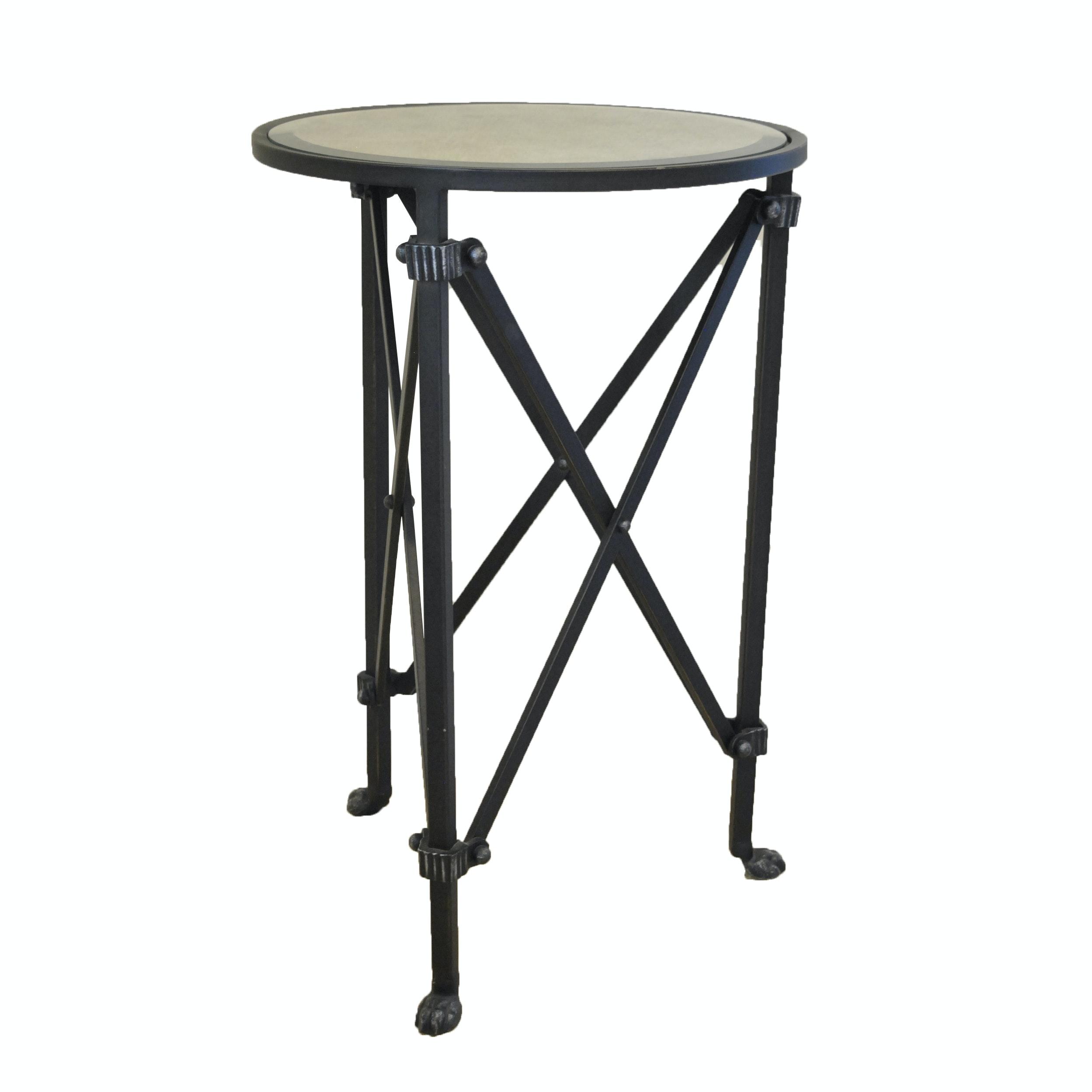 Metal Accordion Leg Table