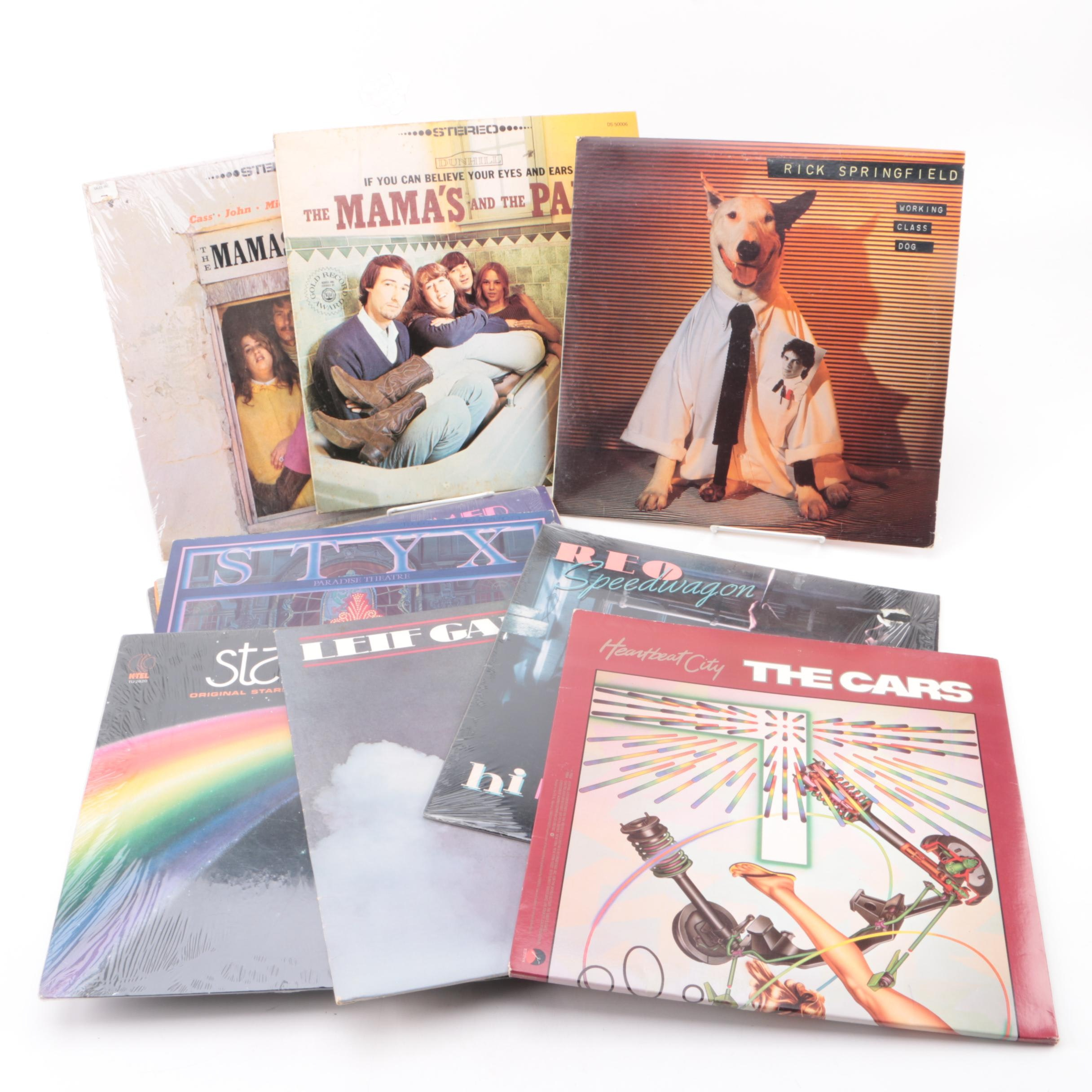 Collection of Oldies Records