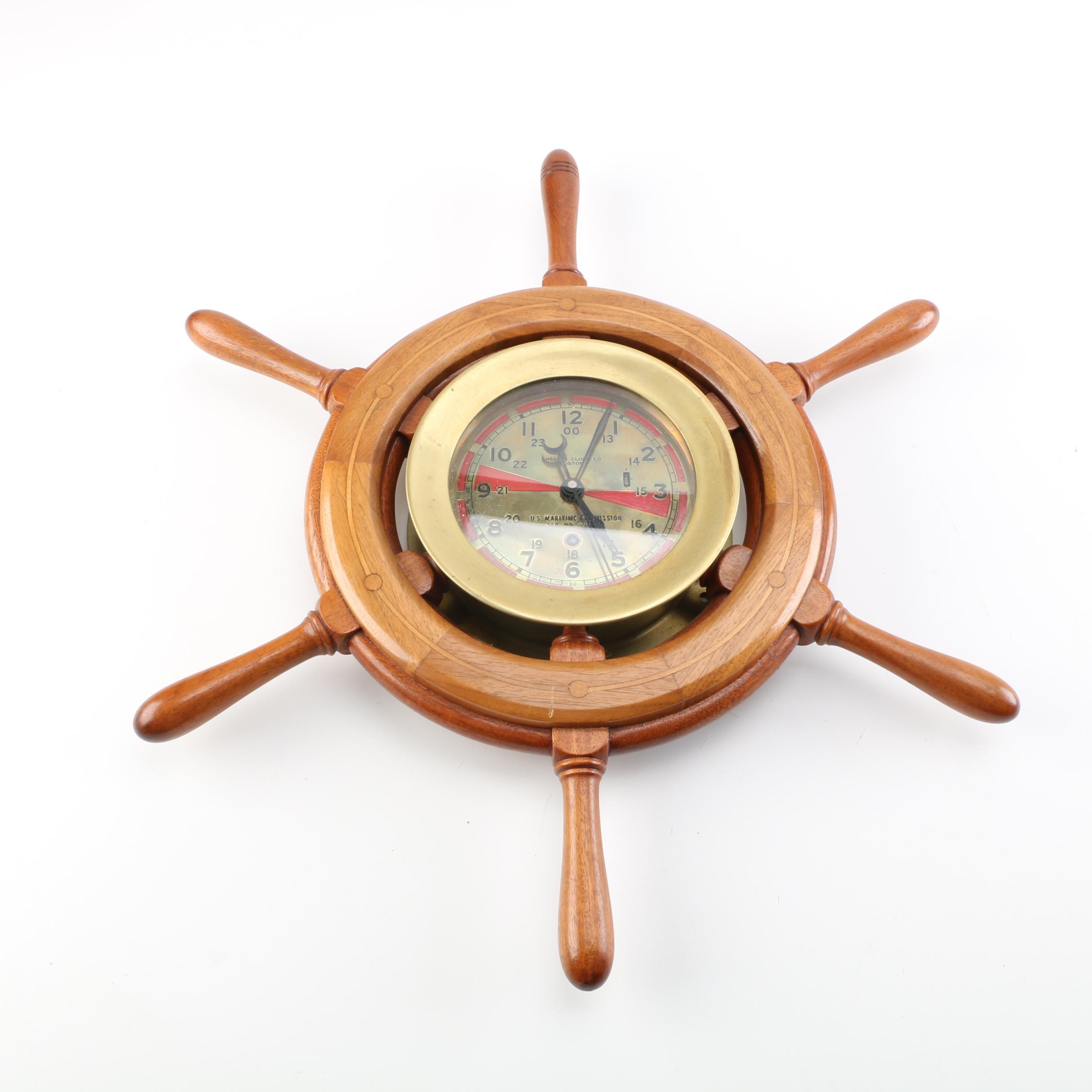 Chelsea Clock Co. Maritime Wall Clock