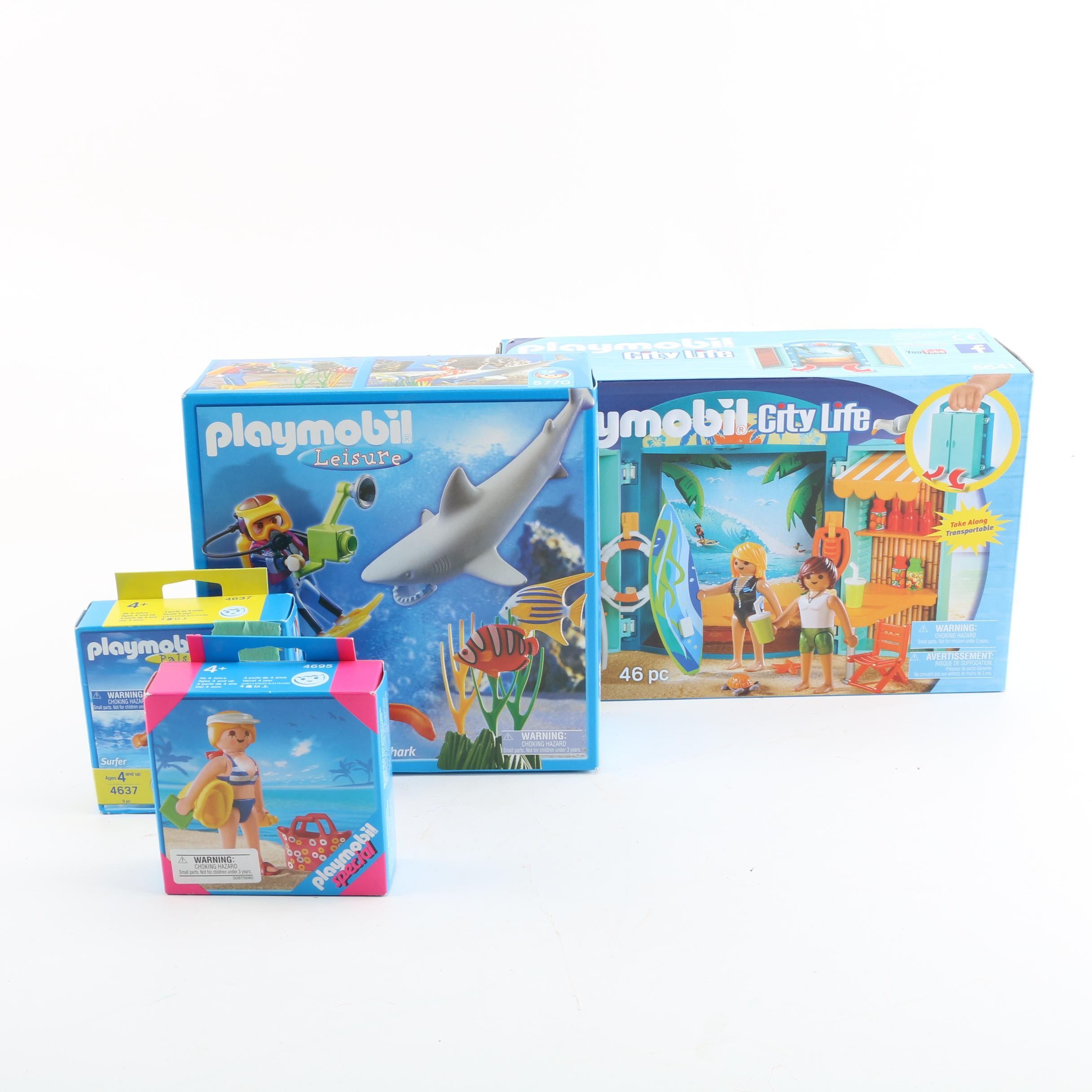 Playmobil Summer Themed Play Sets