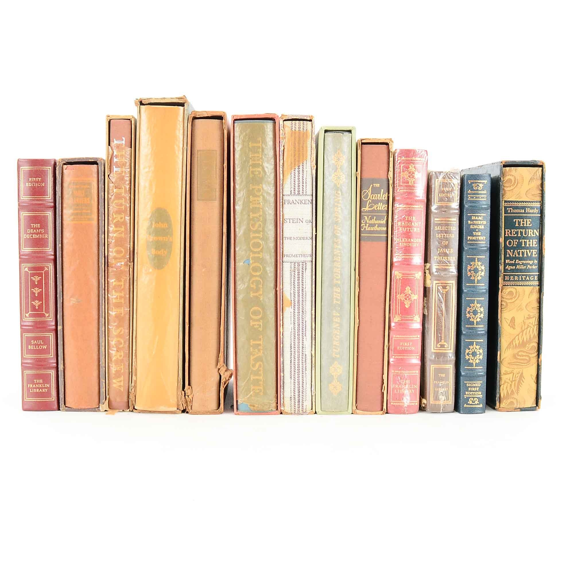 Group of Hardcover Books