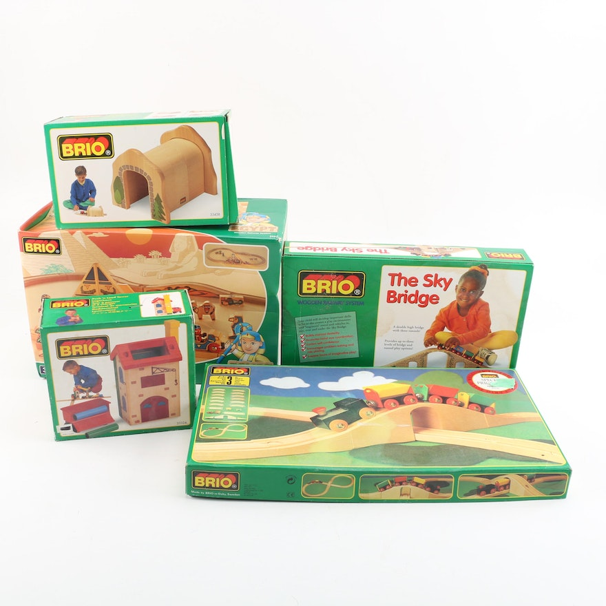 Toy Train Sets And Accessories By Brio