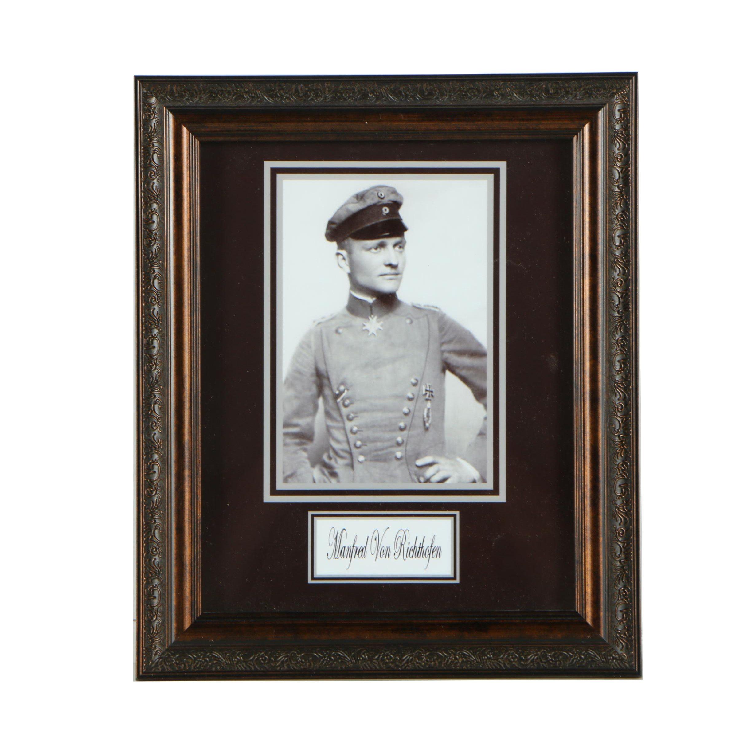"""Digital Print of Manfred von Richthofen the """"Red Baron"""""""