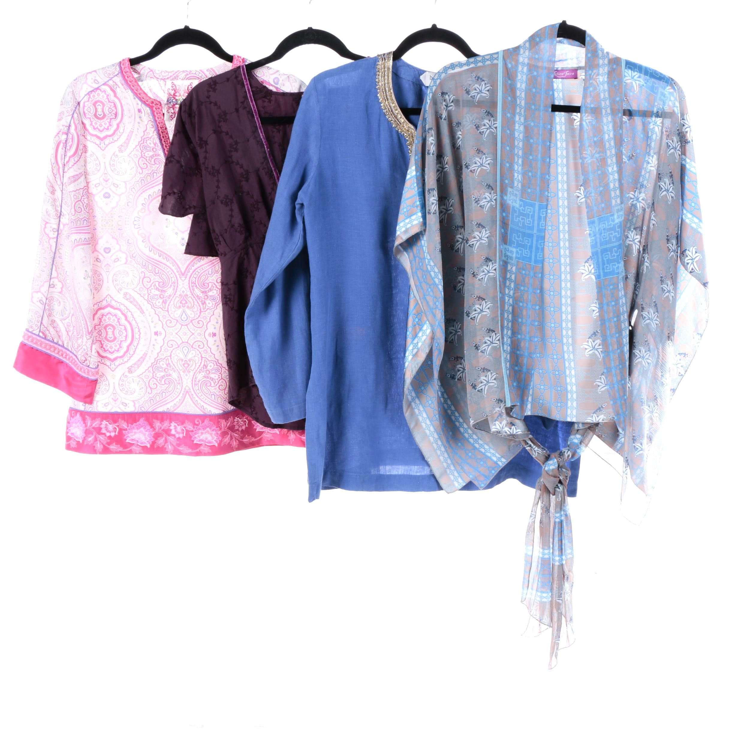 Women's Tunics and Tops Including Robert Graham and Lolita Jaca