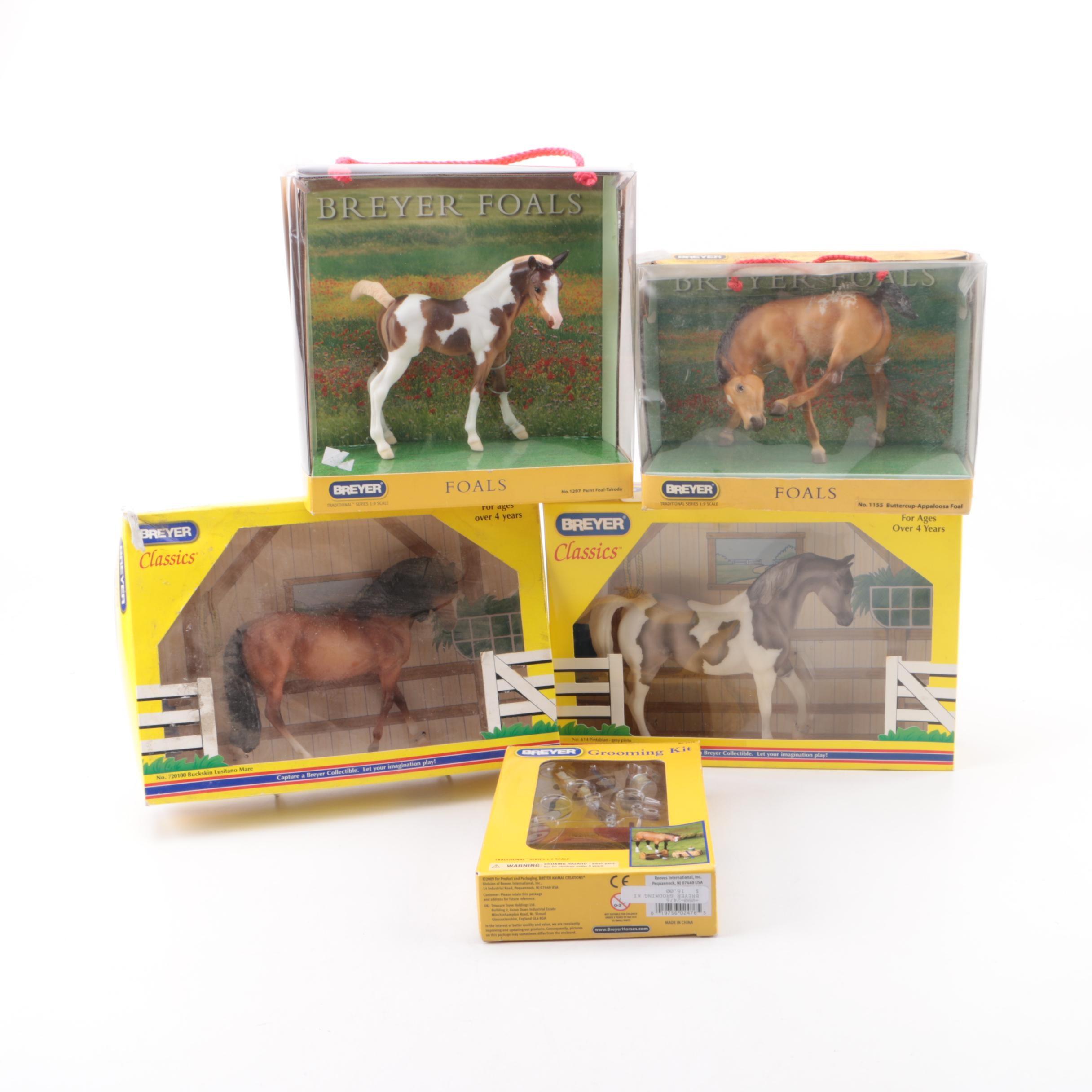 Breyer Model Horses, Including Foals and Classics