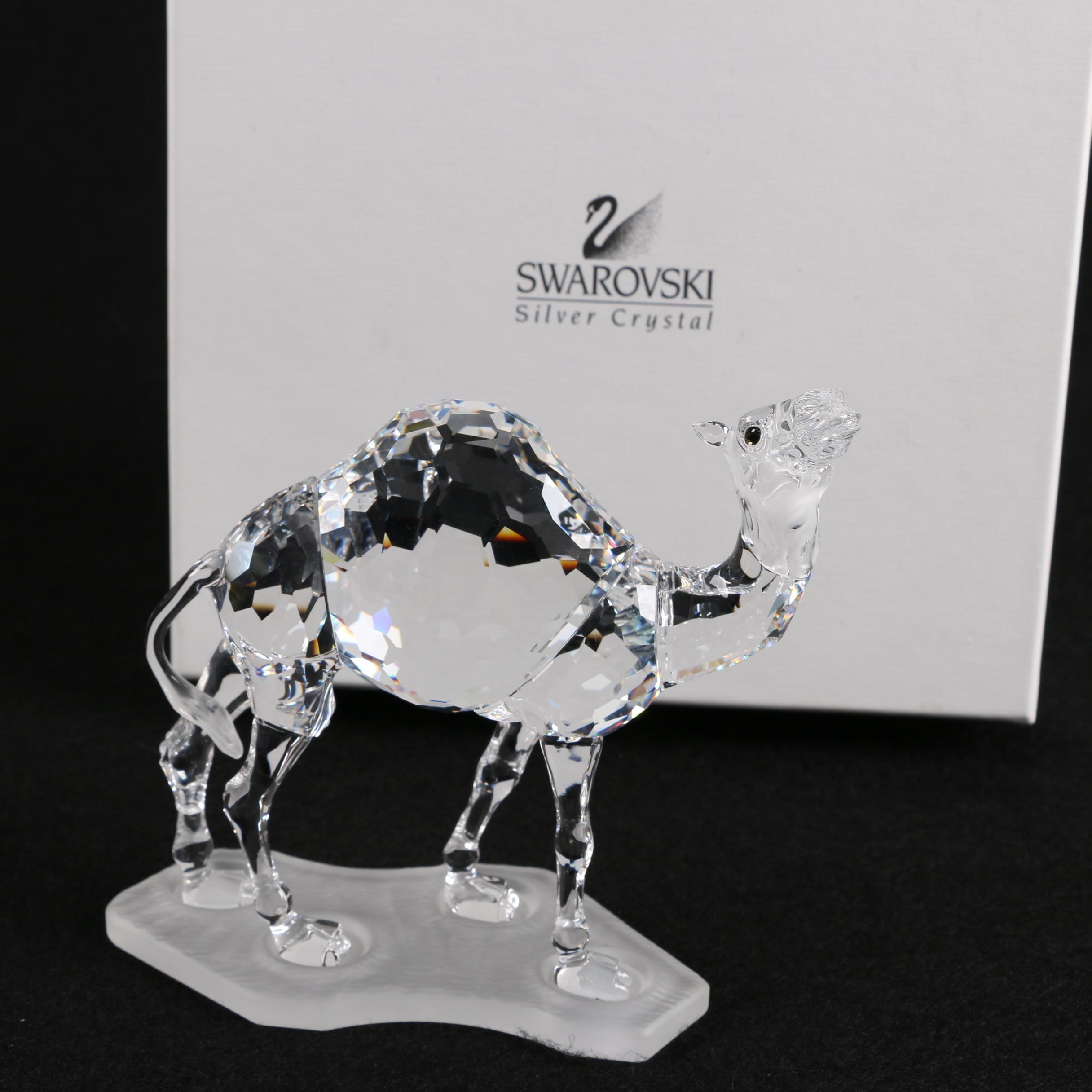Swarovski Crystal Camel Figurine