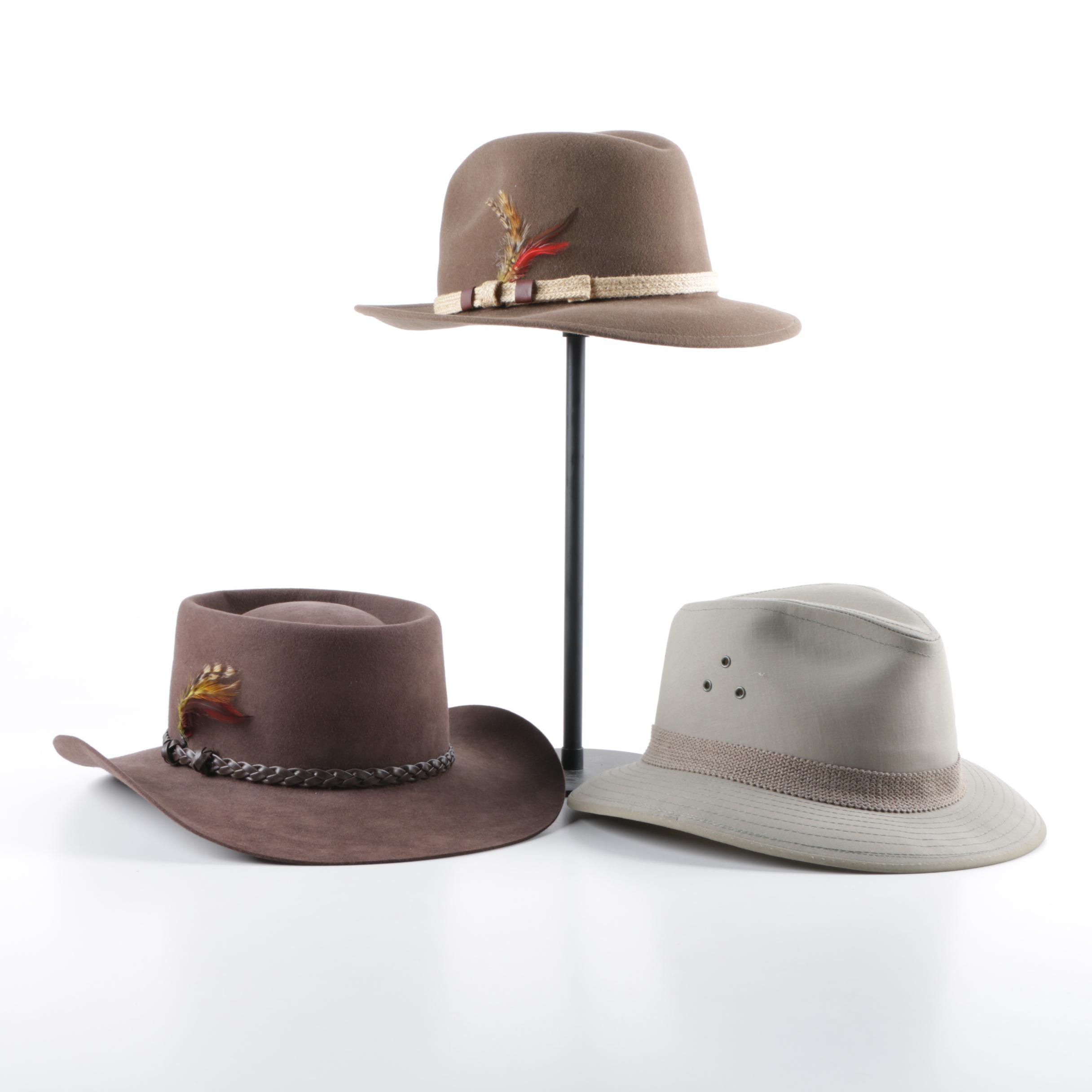 Men's Hats Including Park Royal and Akubra