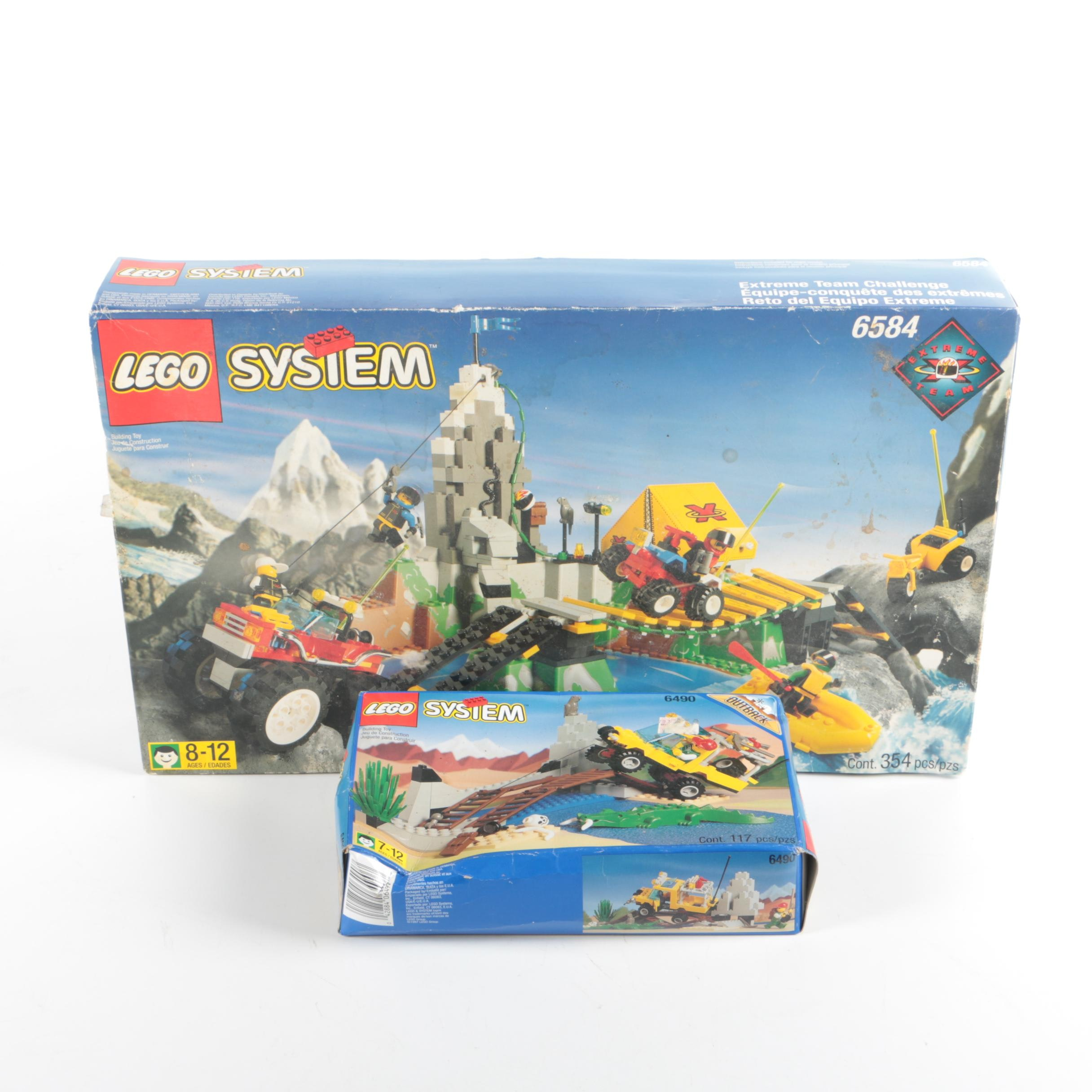 """""""Lego System"""" """"Extreme Team"""" and """"Outback"""" Sets"""