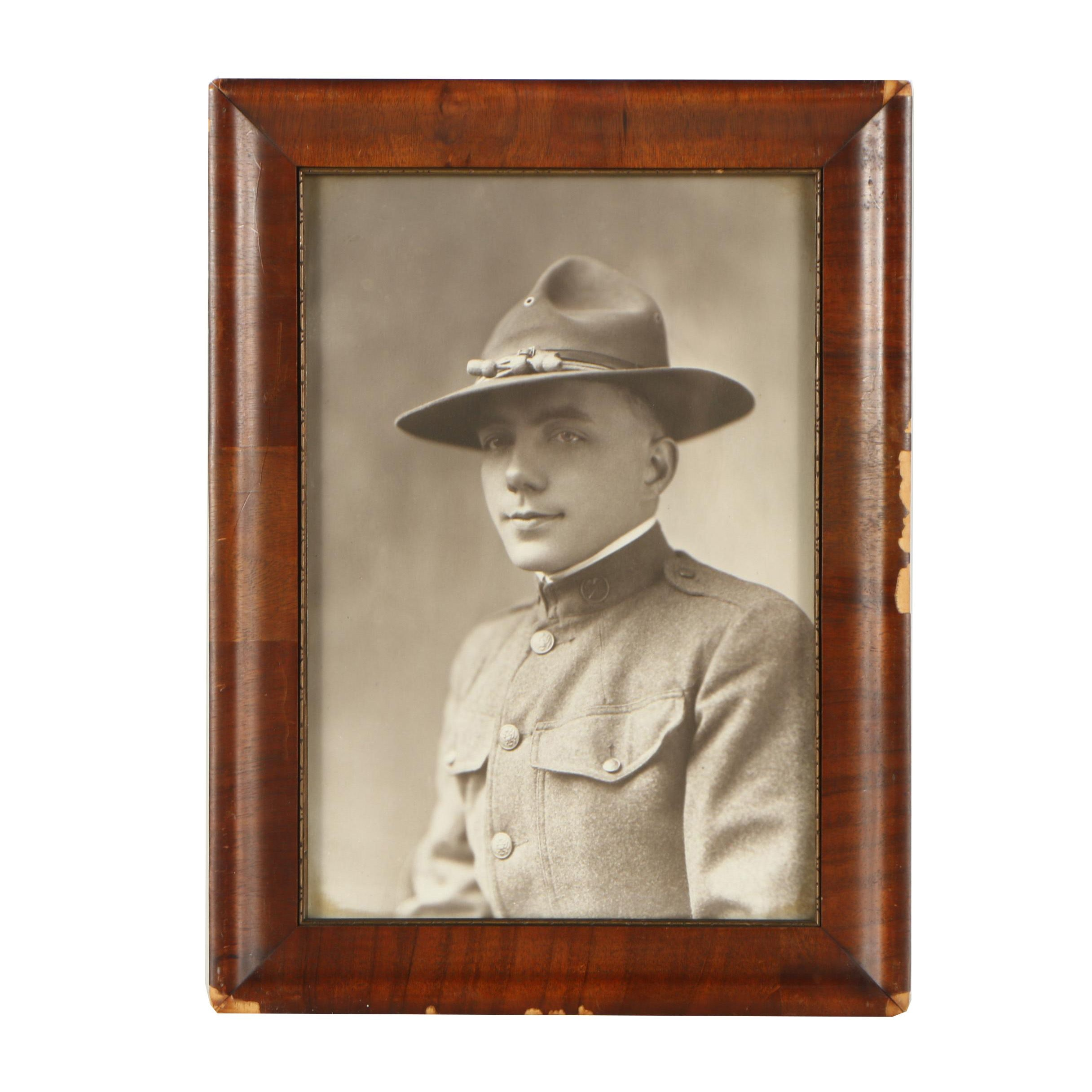 WWI Era Photograph of U.S. Soldier