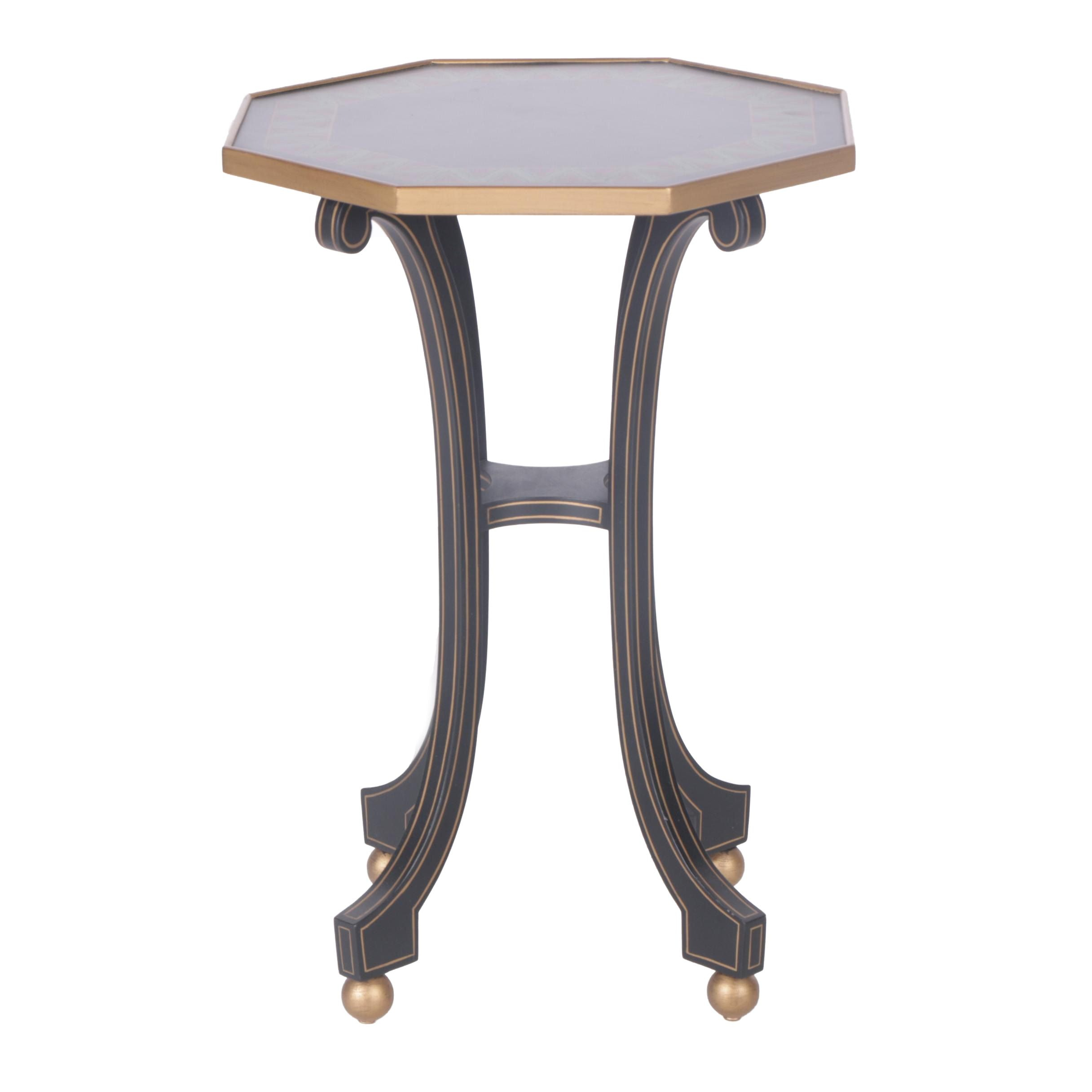 Octagonal Side Table from Mario Buatta Collection for John Widdicomb Company
