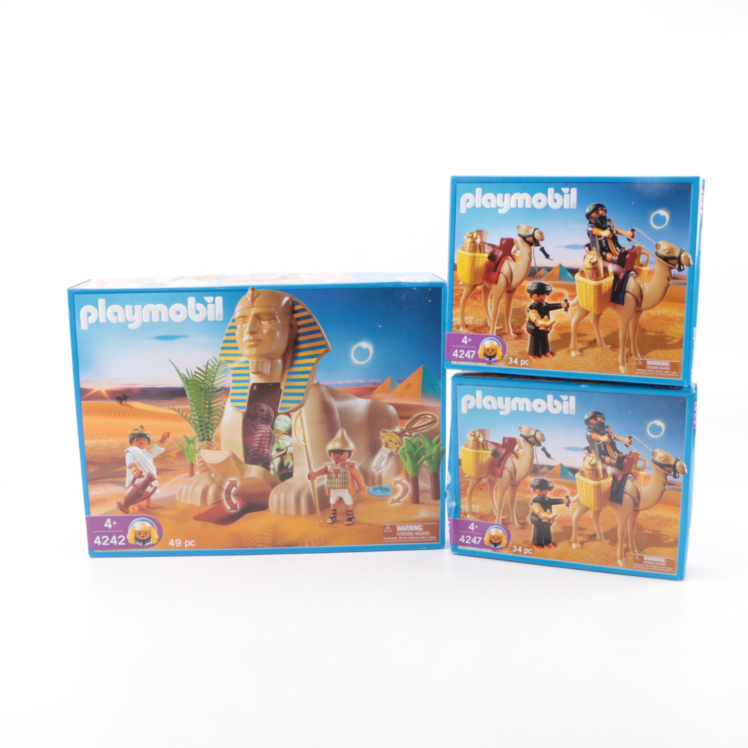 Playmobil Egyptian Themed Sets