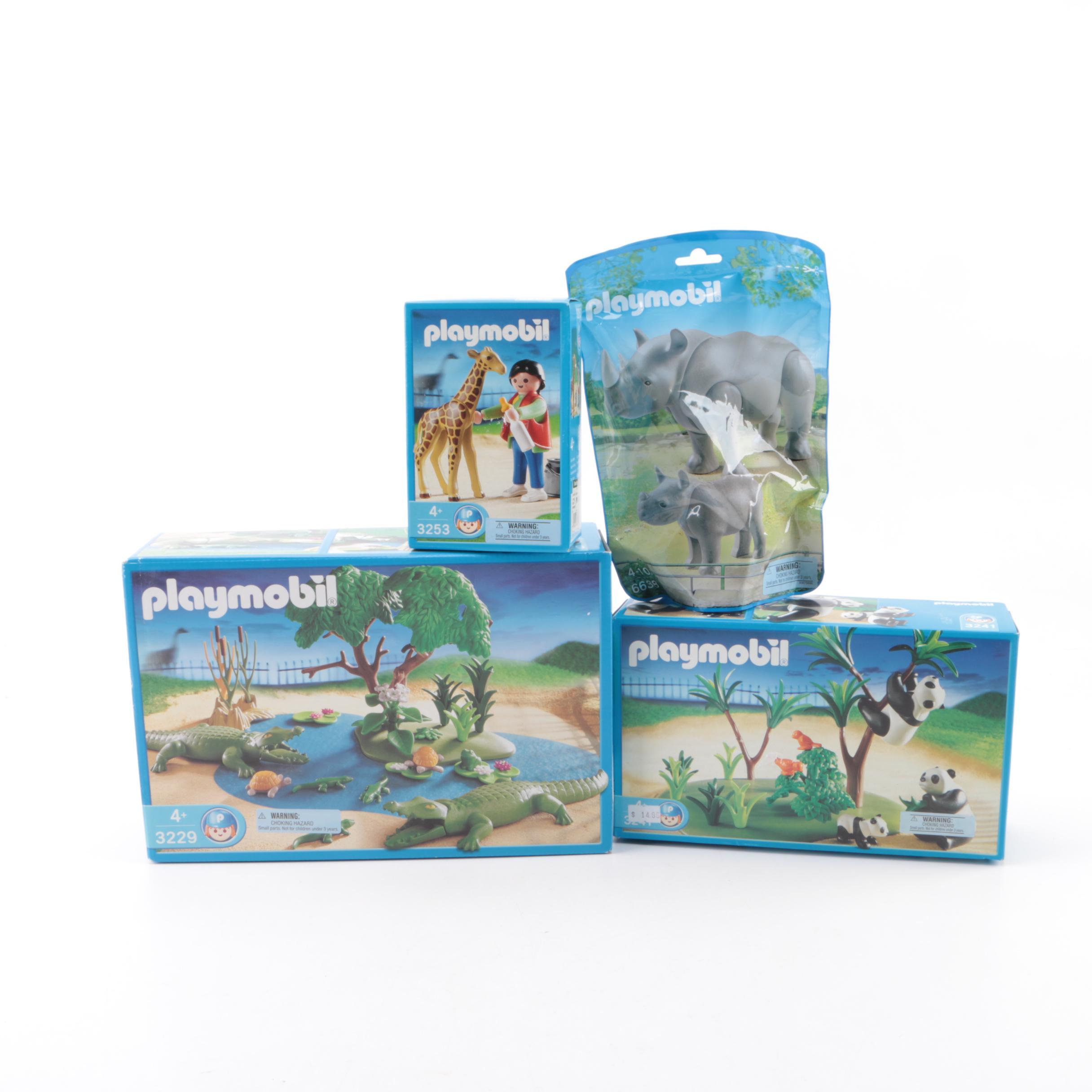 Playmobil Echse Echsen Terrarium Dinosaurier Zoo Tierpark Expedition