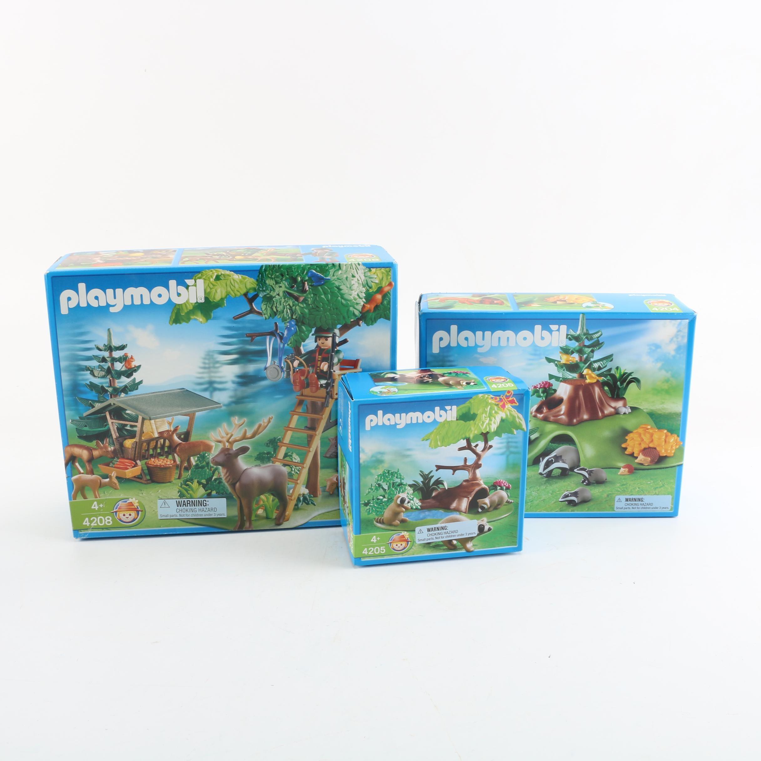 Playmobil Woodland Play Sets