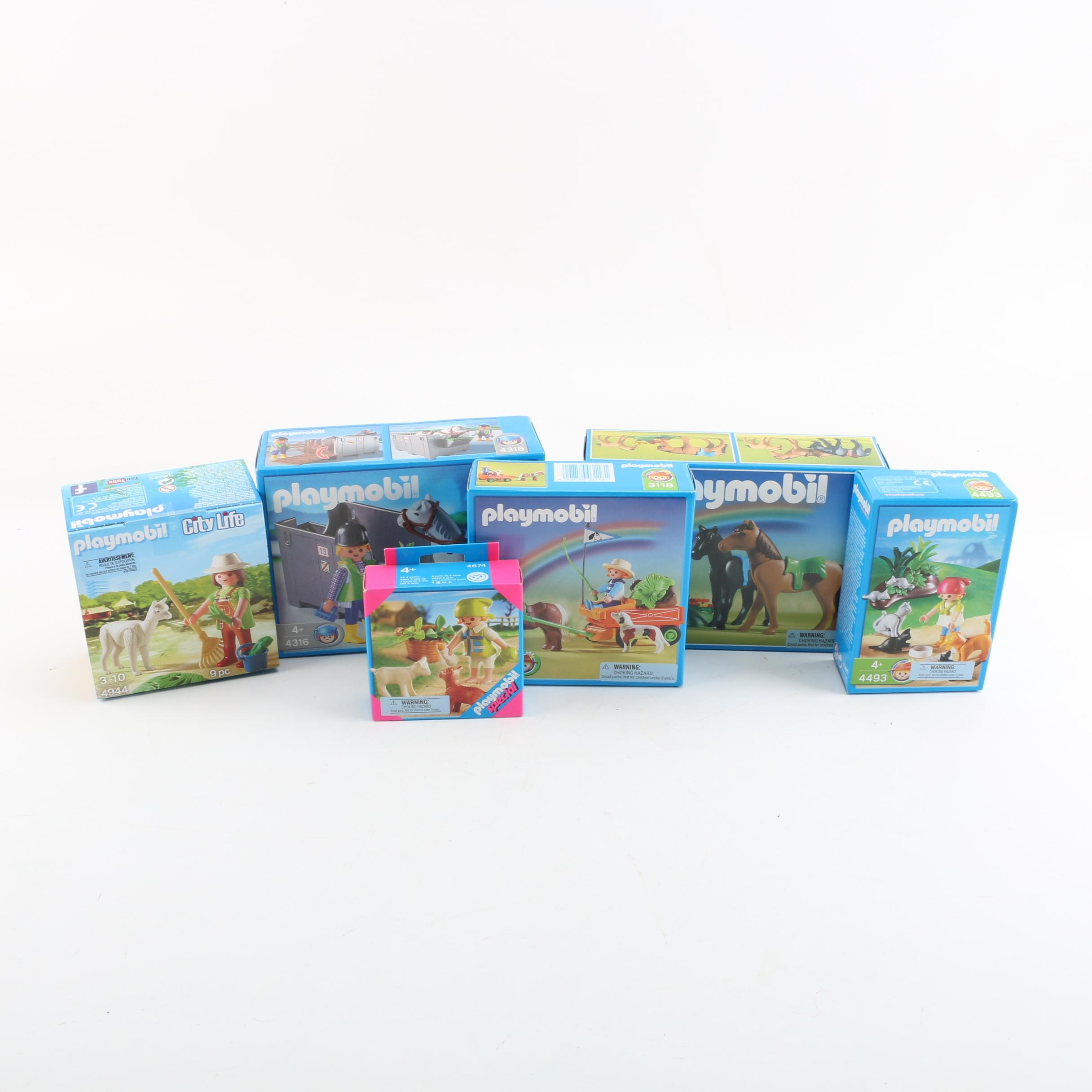 Playmobil Country and Pet Themed Sets