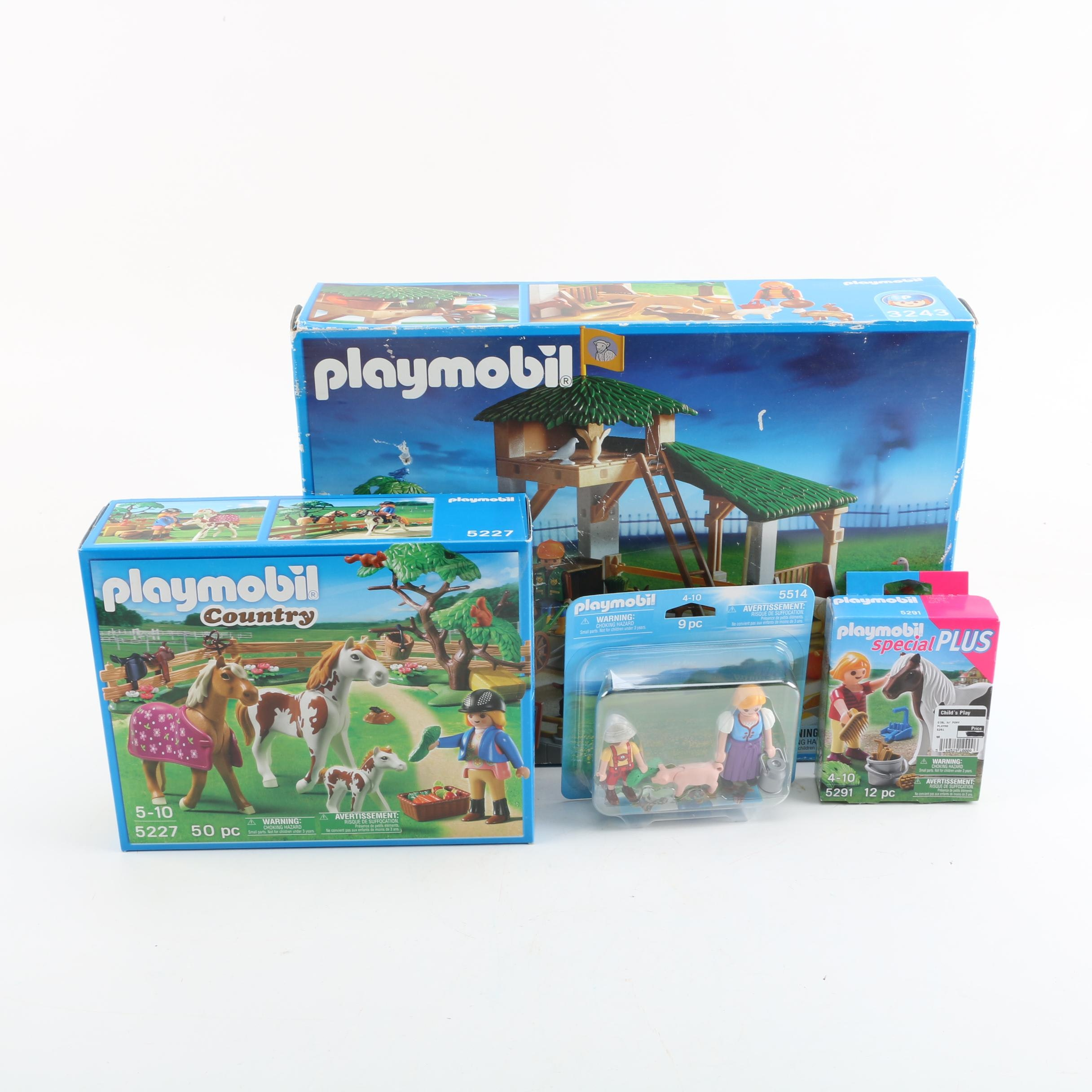 Playmobil Country Themed Sets