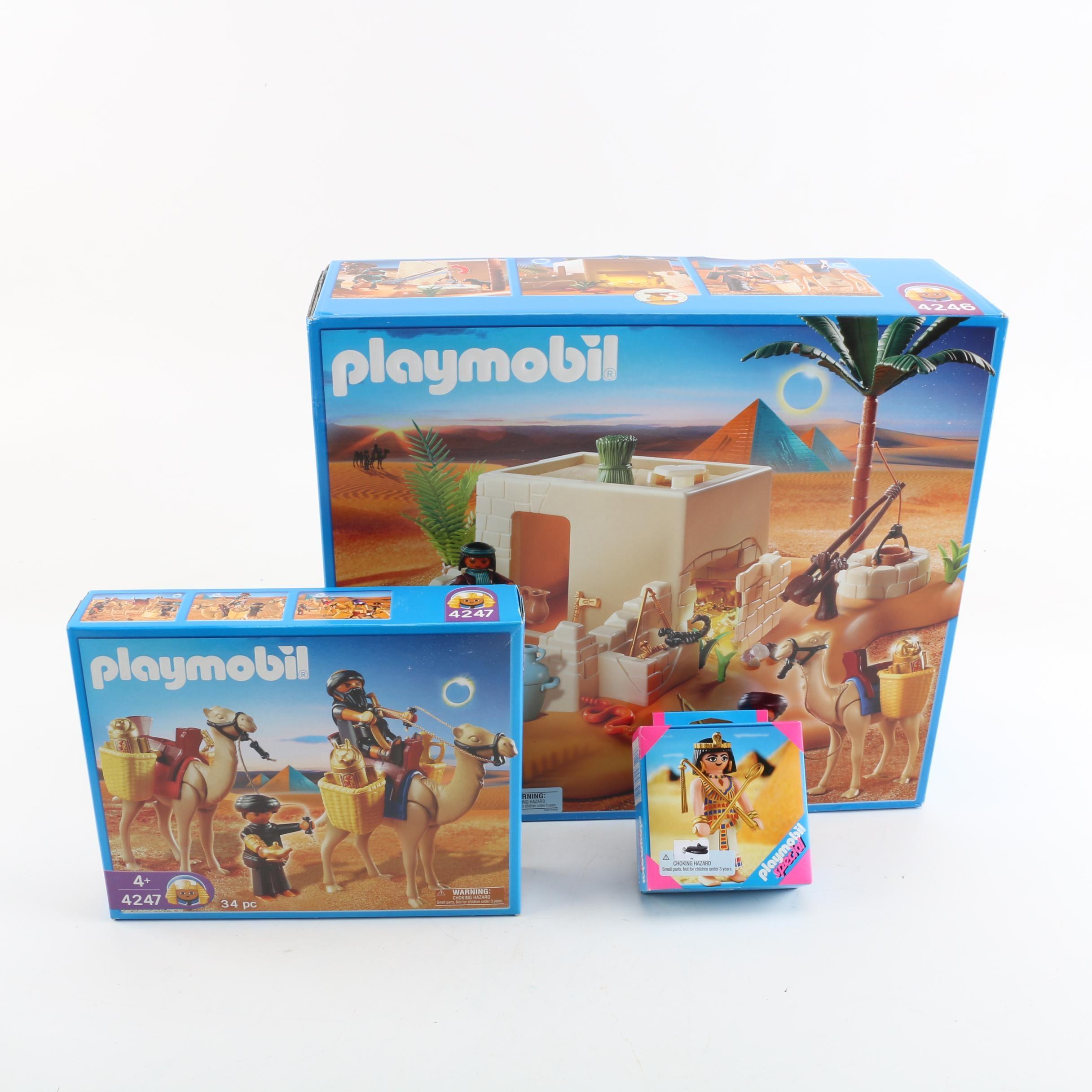 Playmobil Egyptian Themed Play Sets