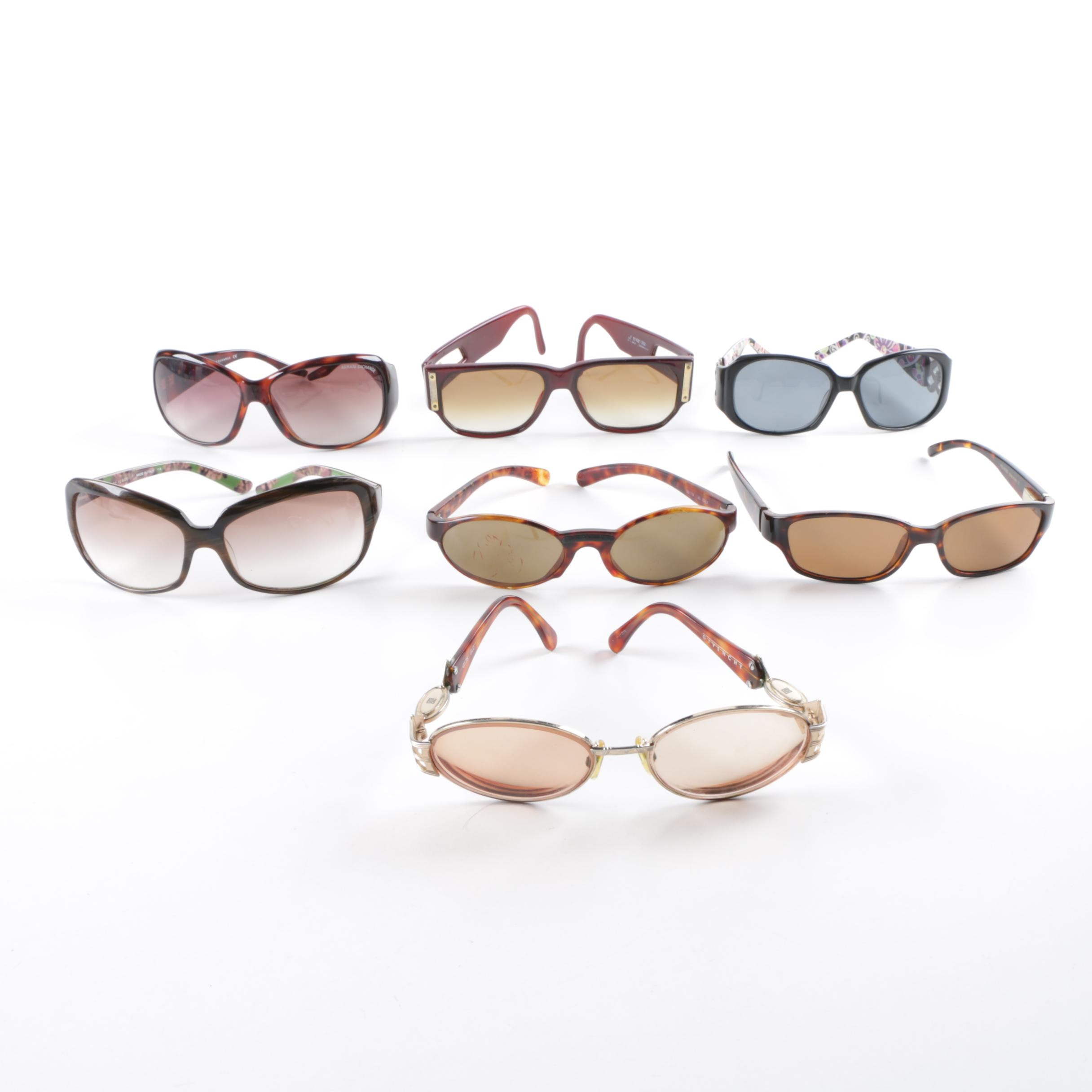 Women's Sunglasses Including Givenchy, Armani Exchange and Kate Spade New York