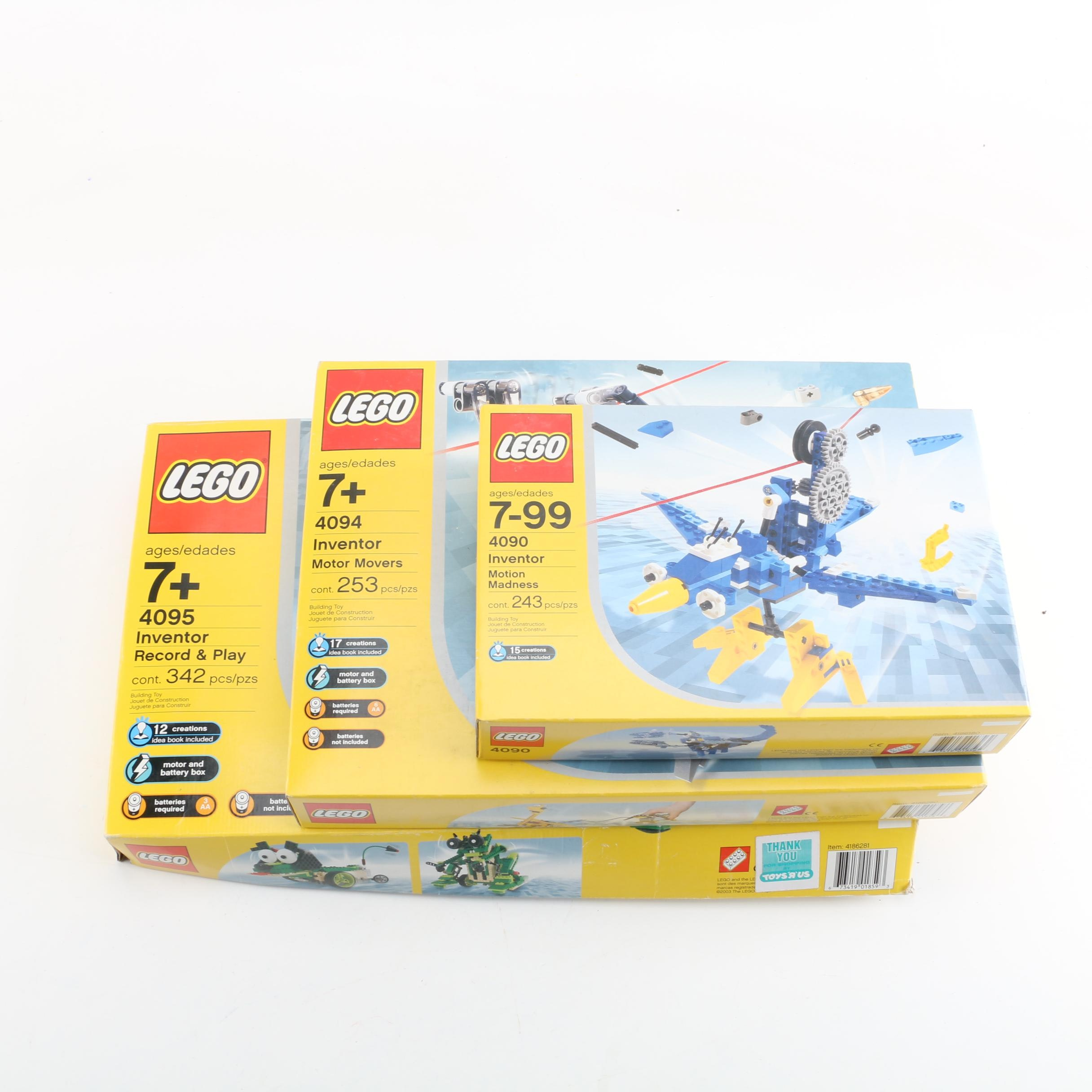 """Lego Inventor"" Sets in Packaging"