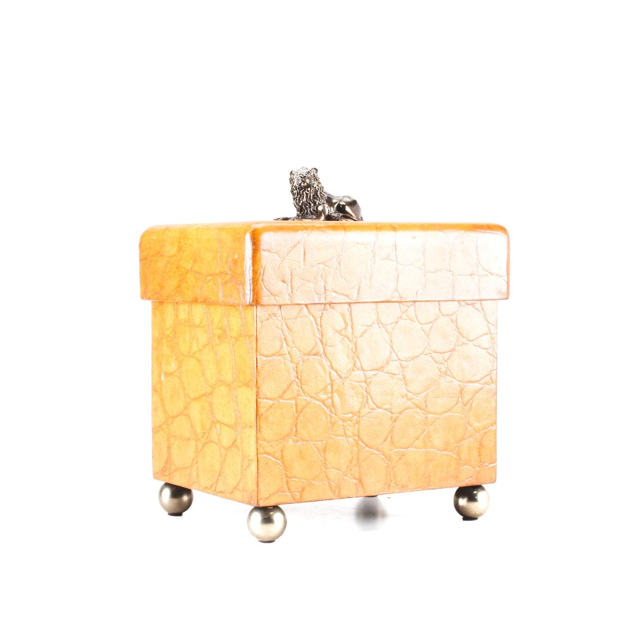 Maitland-Smith Lacquered Decorative Box