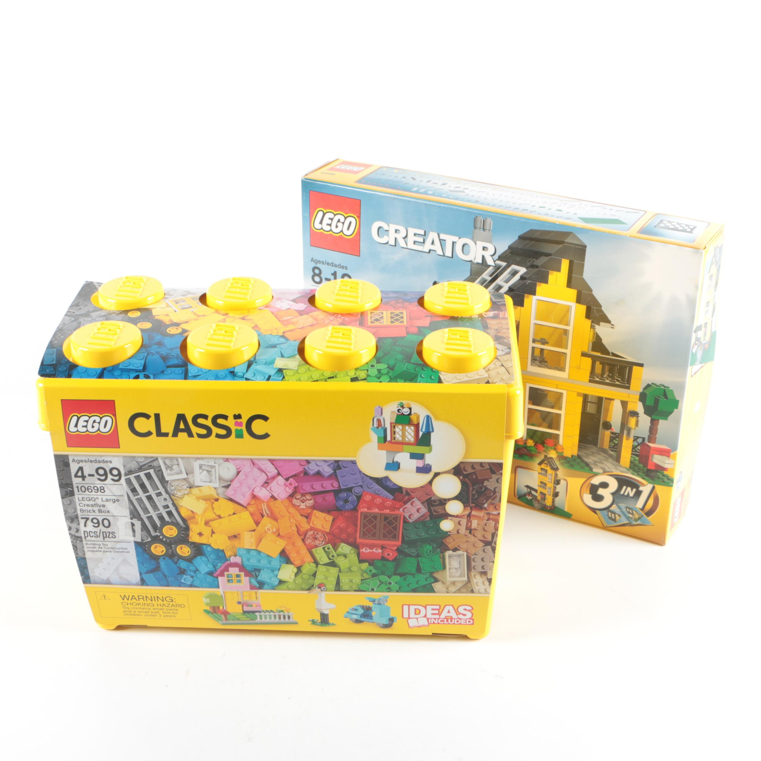 """Lego """"Classic"""" and """"Creator"""" Building Sets"""