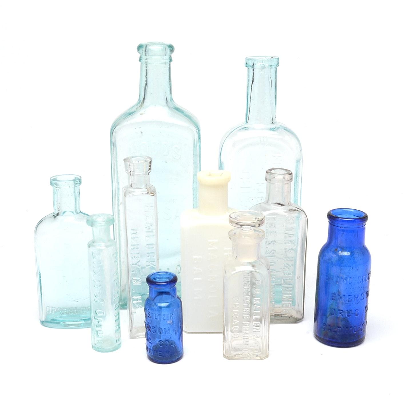 "Vintage Elixir Bottles Featuring ""Lords Opodeldoc"""