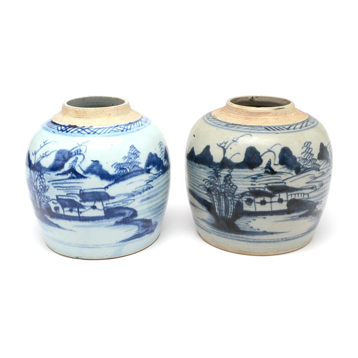 Chinese Ceramic Jars