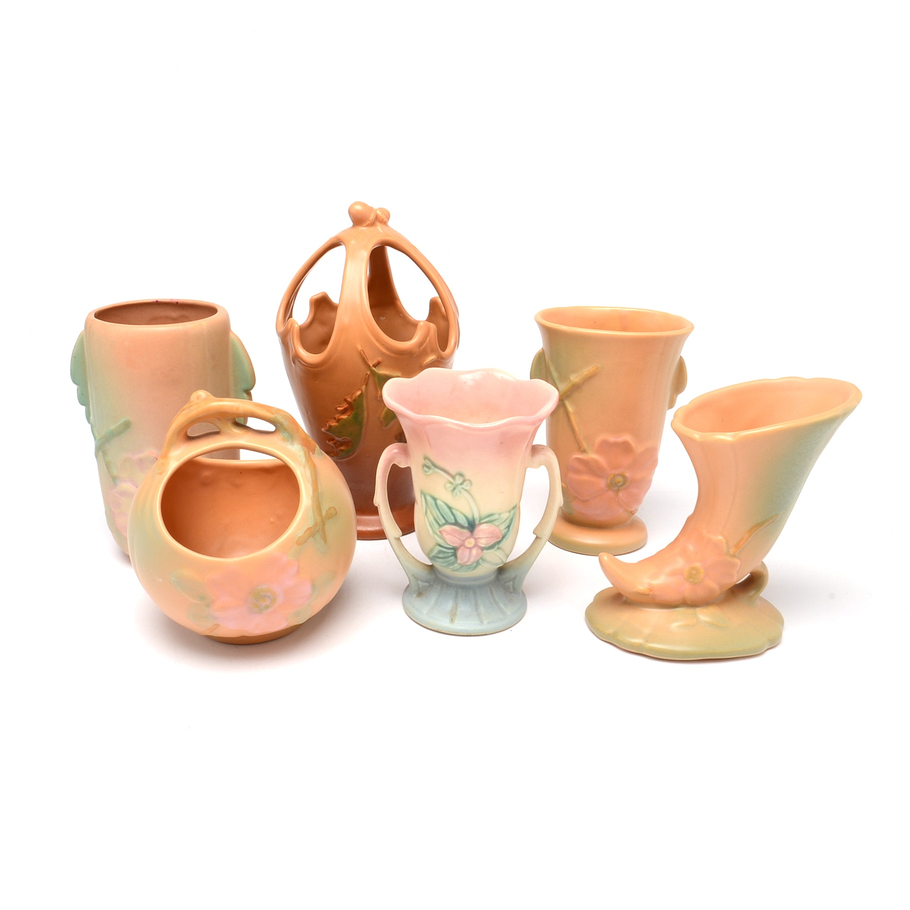 Collection of Vintage Weller Pottery
