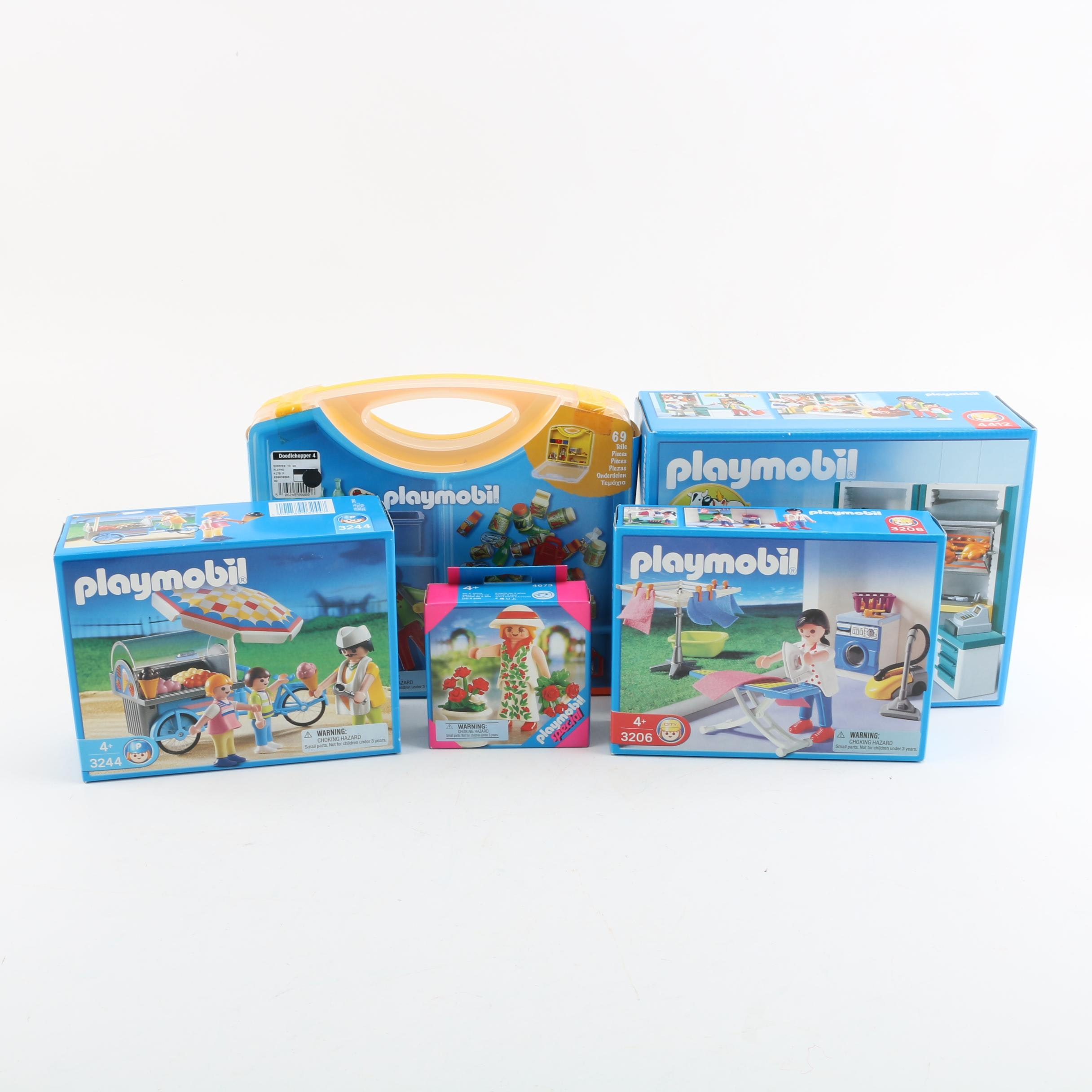 Playmobil Retail, Work and Shopping Play Sets