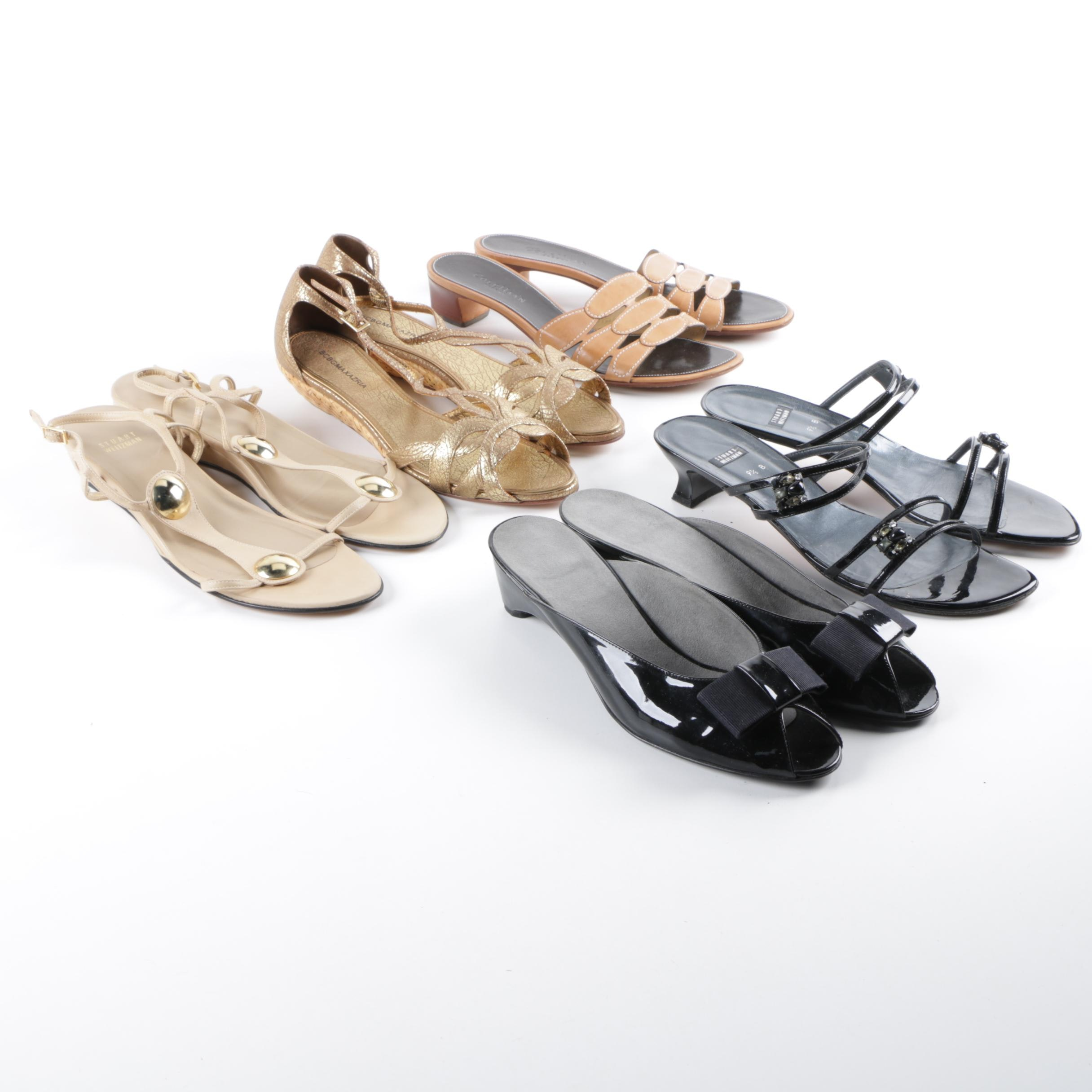 Women's Sandals Including Stuart Weitzman, BCBG Max Azria and Cole Haan