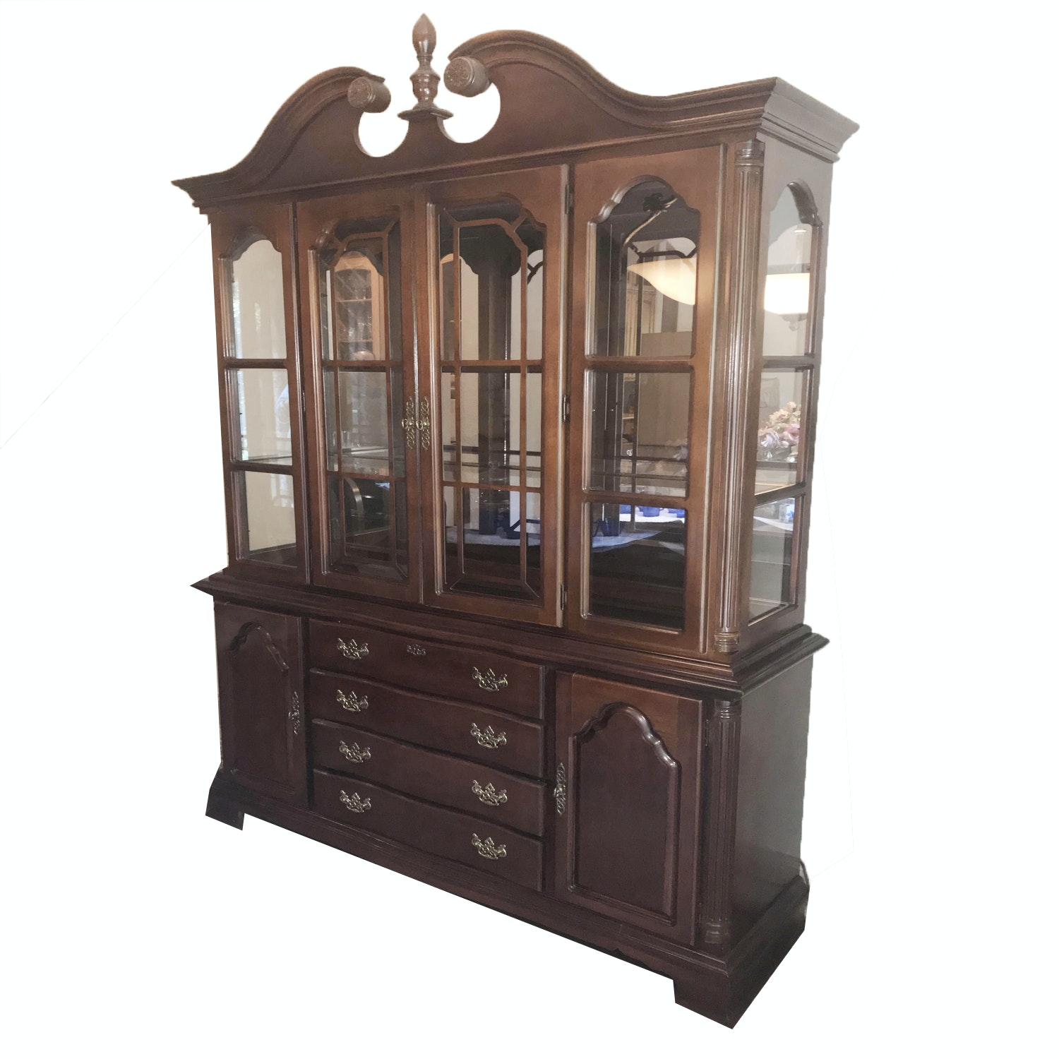 Federal Style China Cabinet