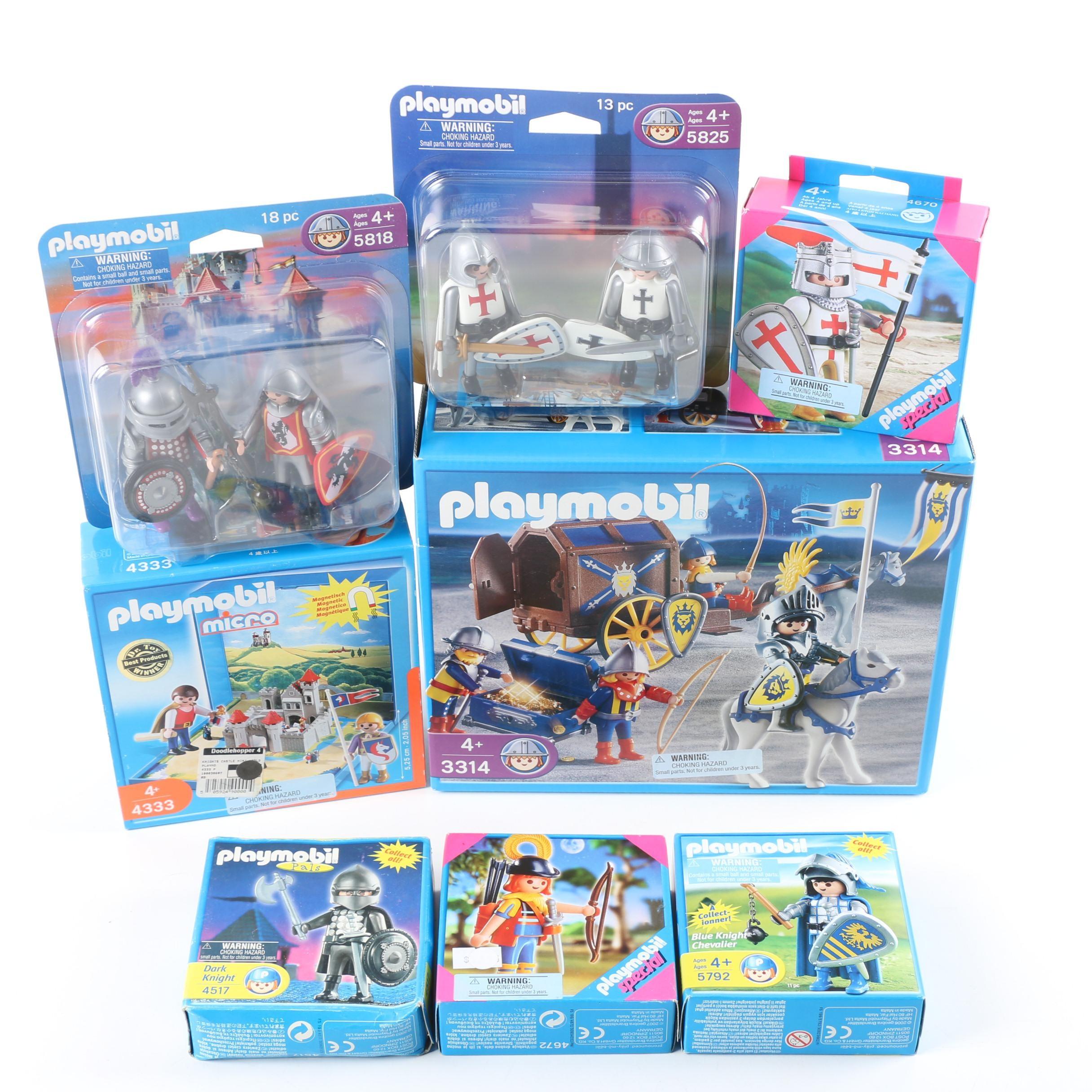 Playmobil Knight-Themed Play Sets