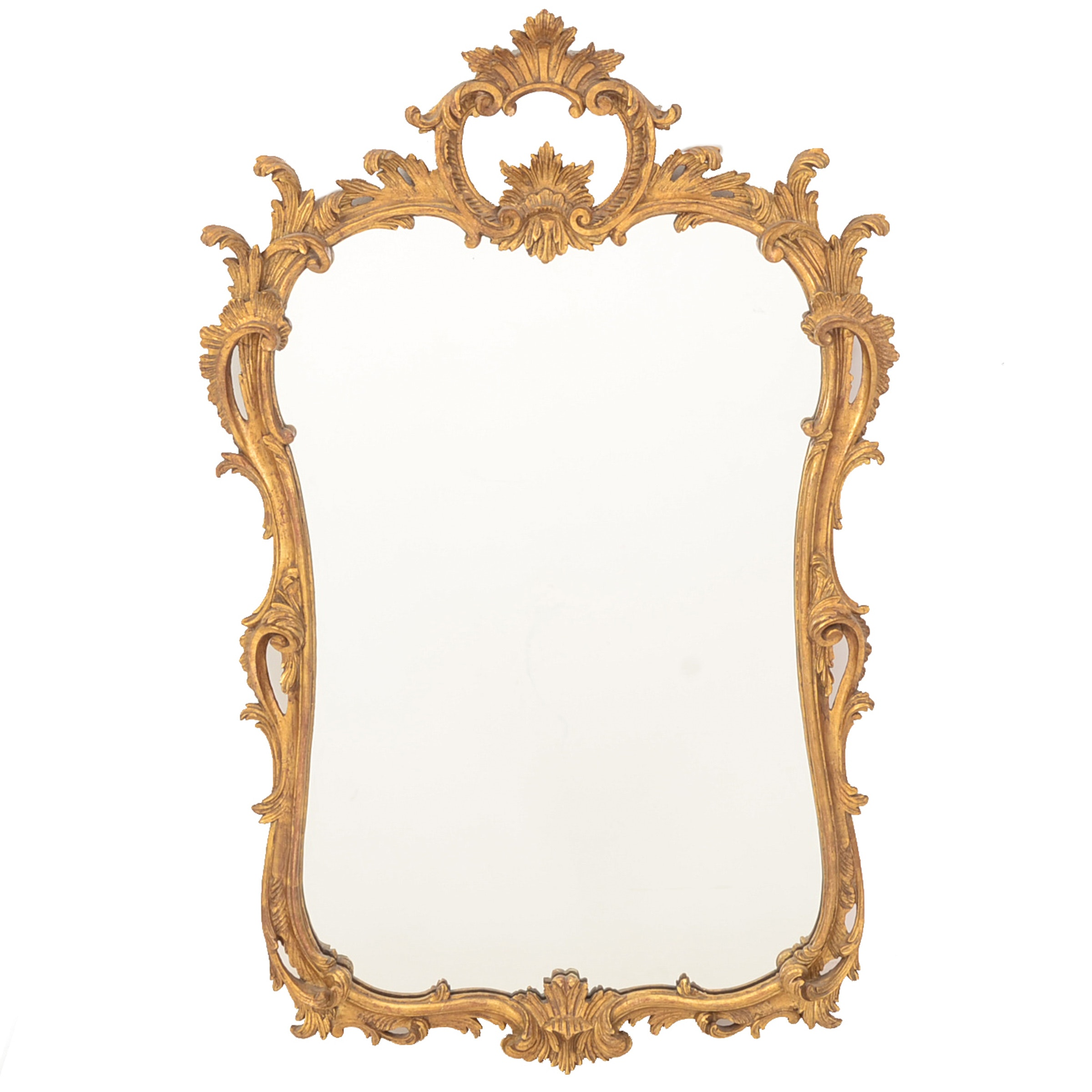 D. Milch & Sons, Inc. Large Gilt Framed Mirror