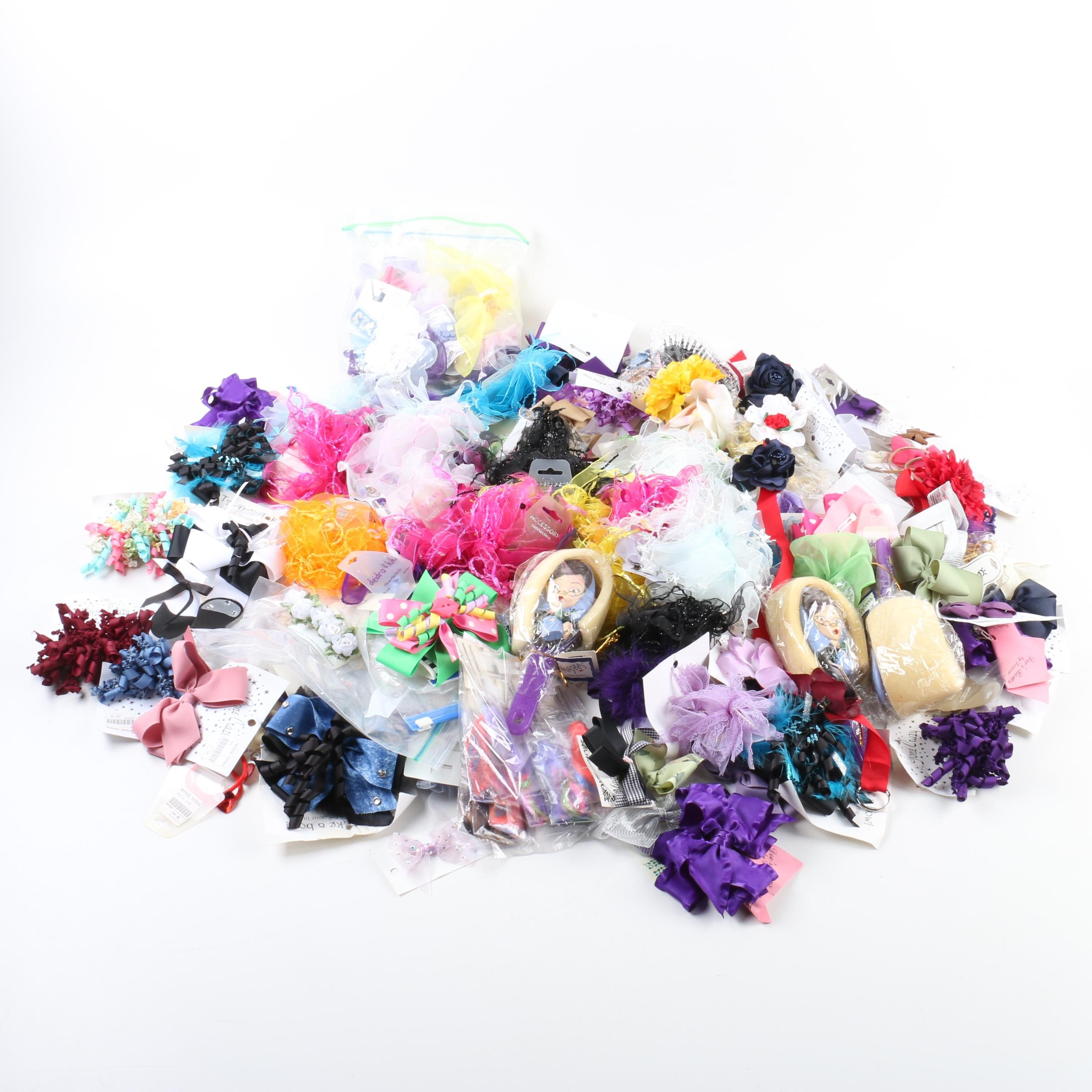 Assortment of Hair Accessories Including Gone Crazy