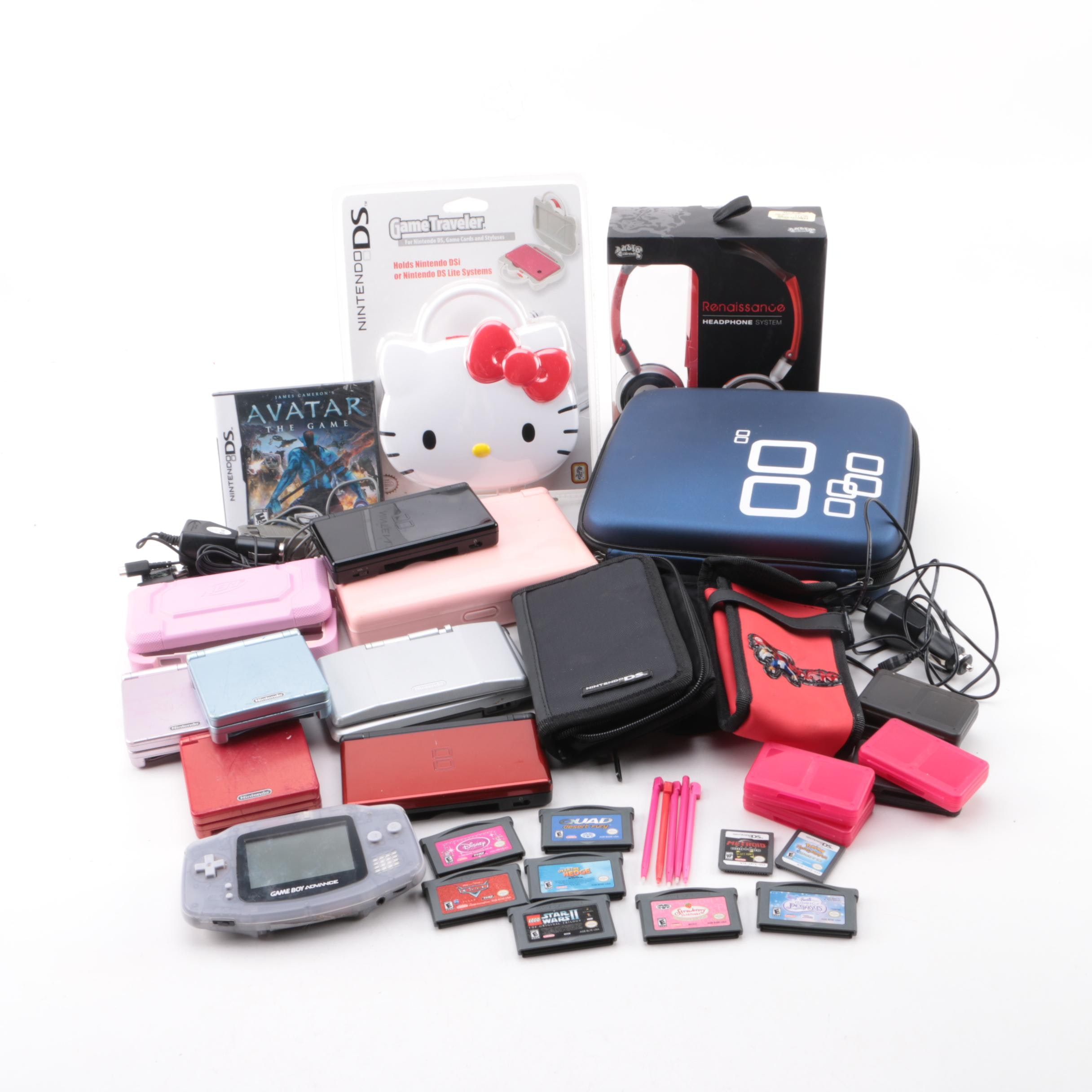 Nintendo Handheld Gaming Consoles and Accessories