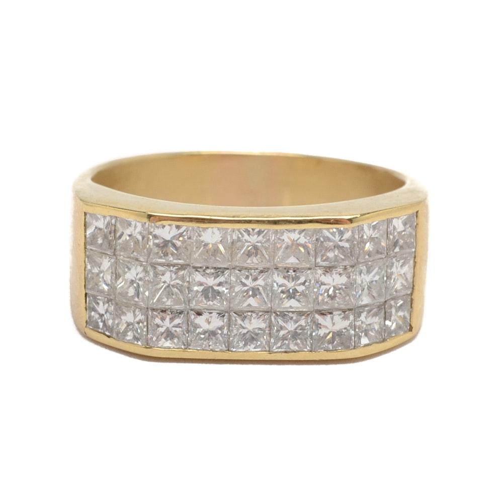 Le Vian 18K Yellow Gold 1.89 CTW Diamond Ring
