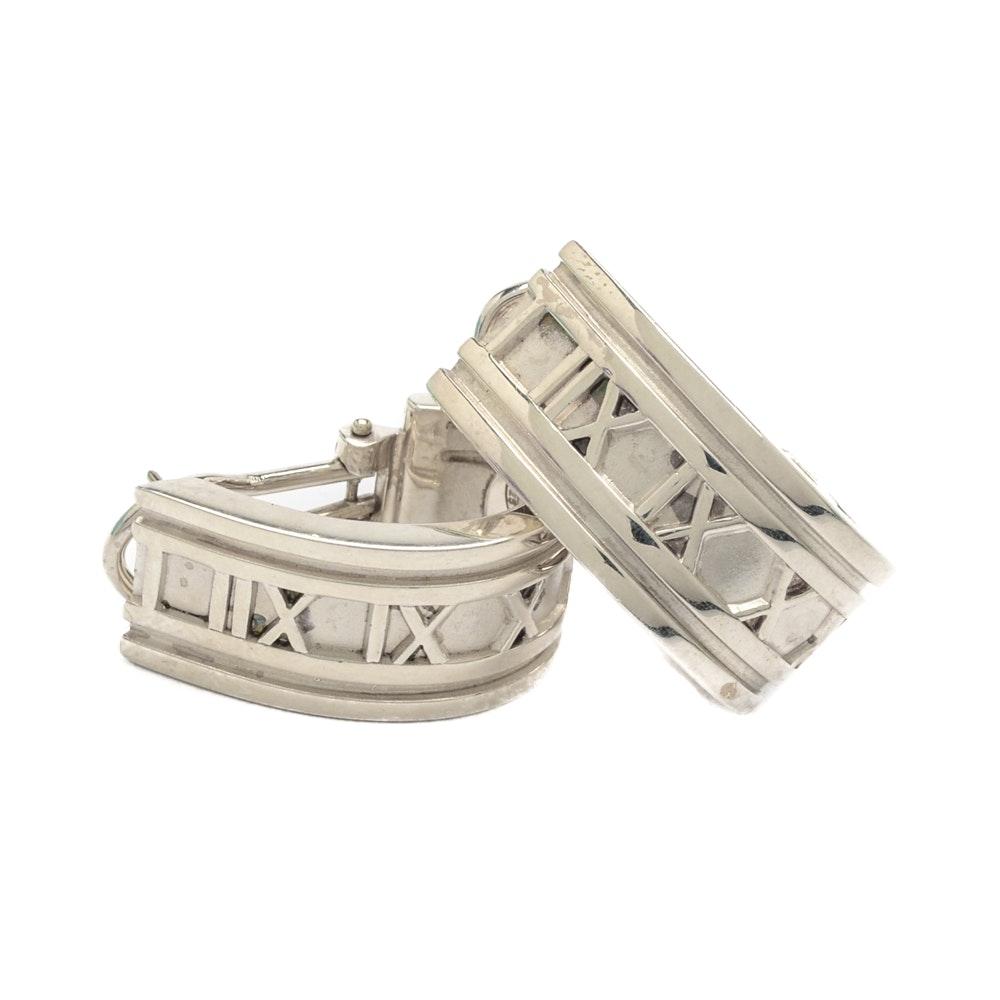 Tiffany & Co. Sterling Silver Atlas Earrings