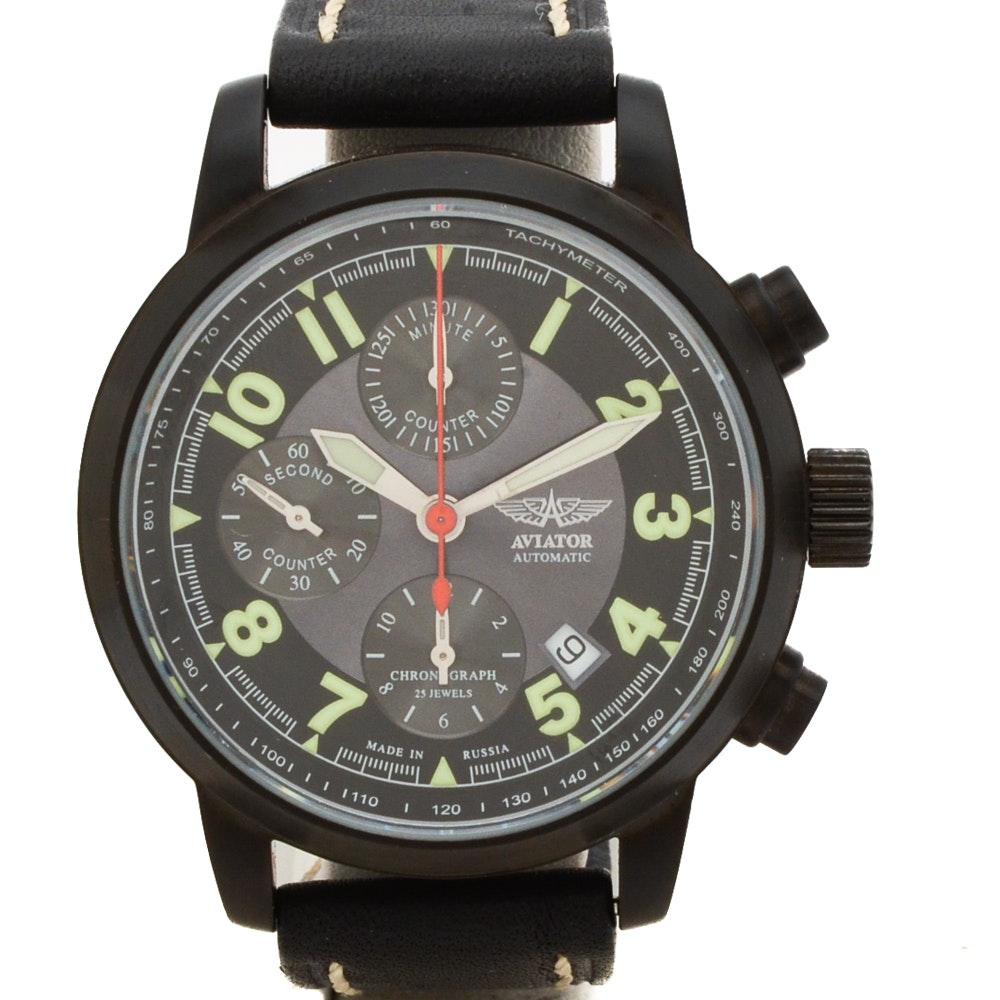 Aviator Automatic Chronograph Wristwatch
