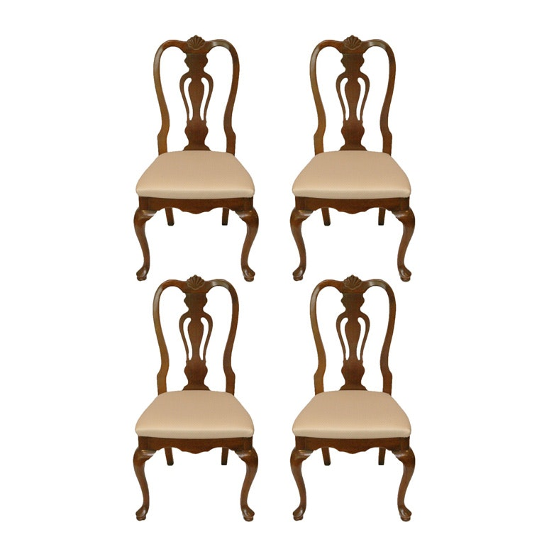 Queen Anne Style Side Chairs