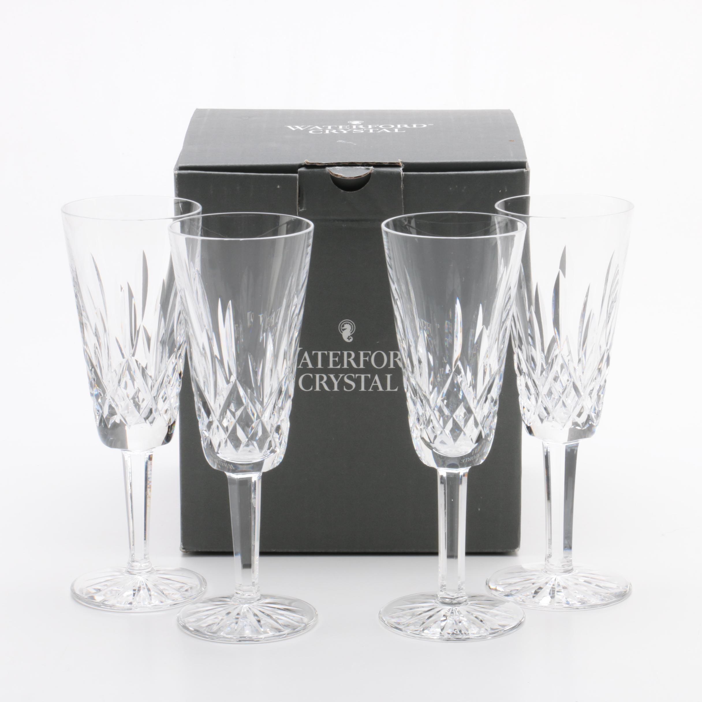 """Waterford """"Lismore"""" Champagne Flute"""