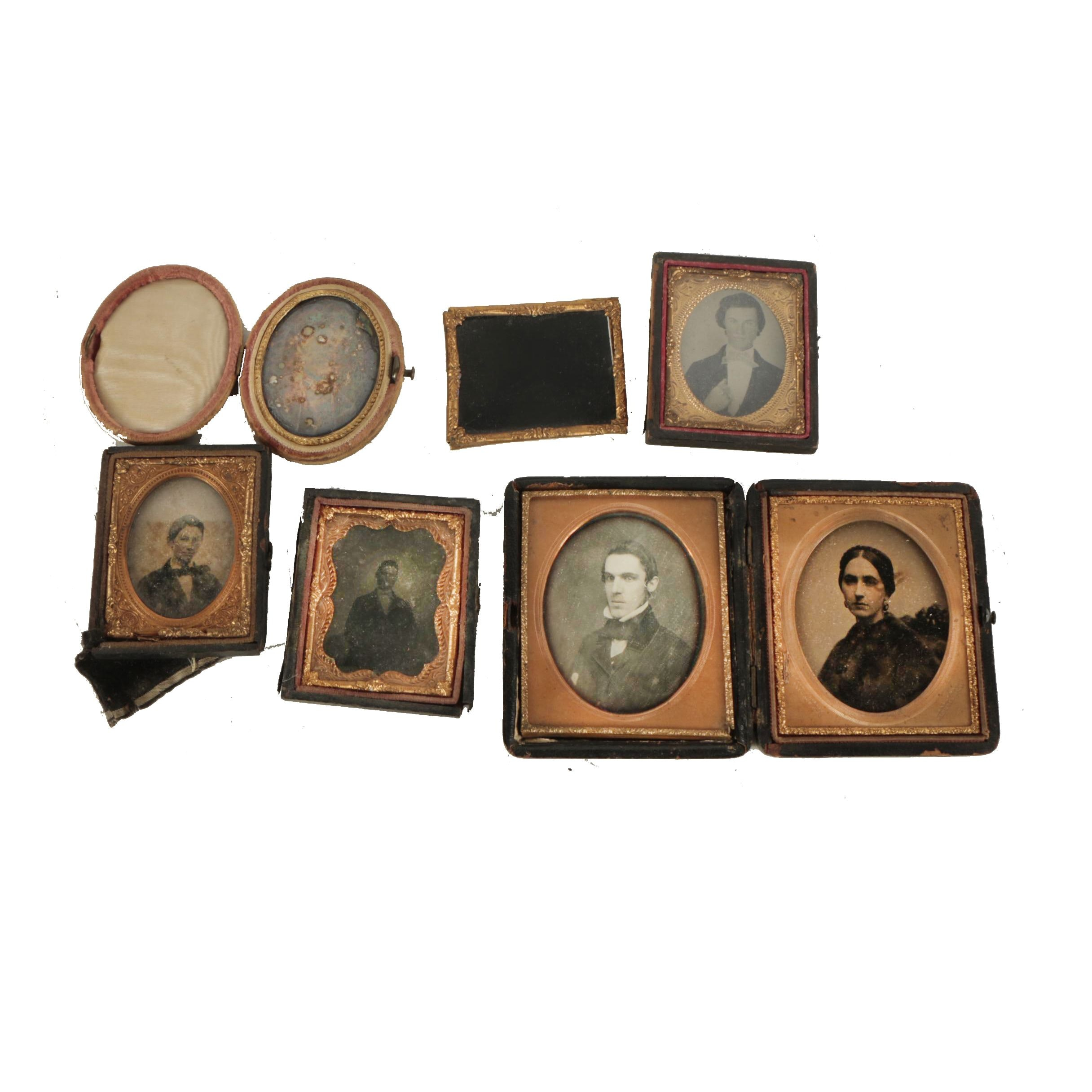 19th-Century Photographs and Union Cases