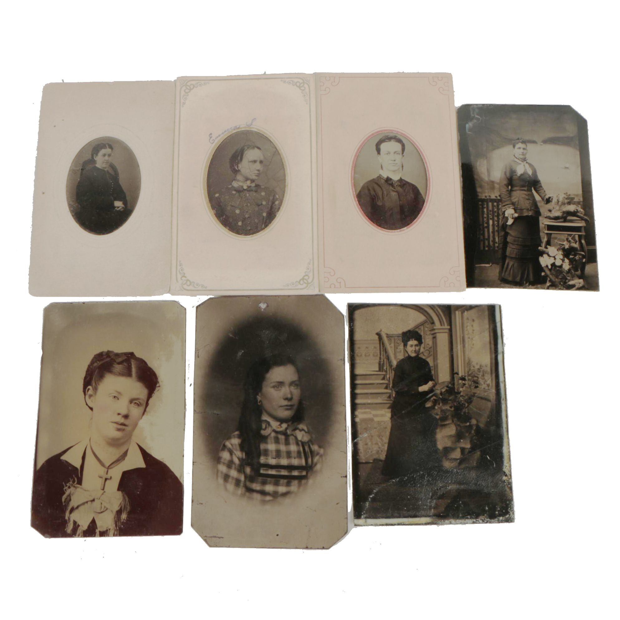 Early 20th-Century Tintype Portraits