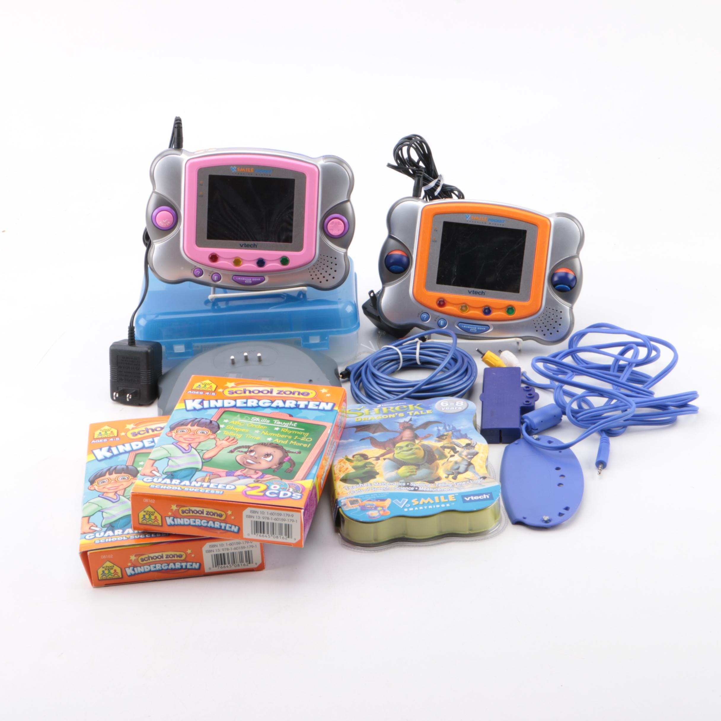 Vtech Portable Learning Systems with Games