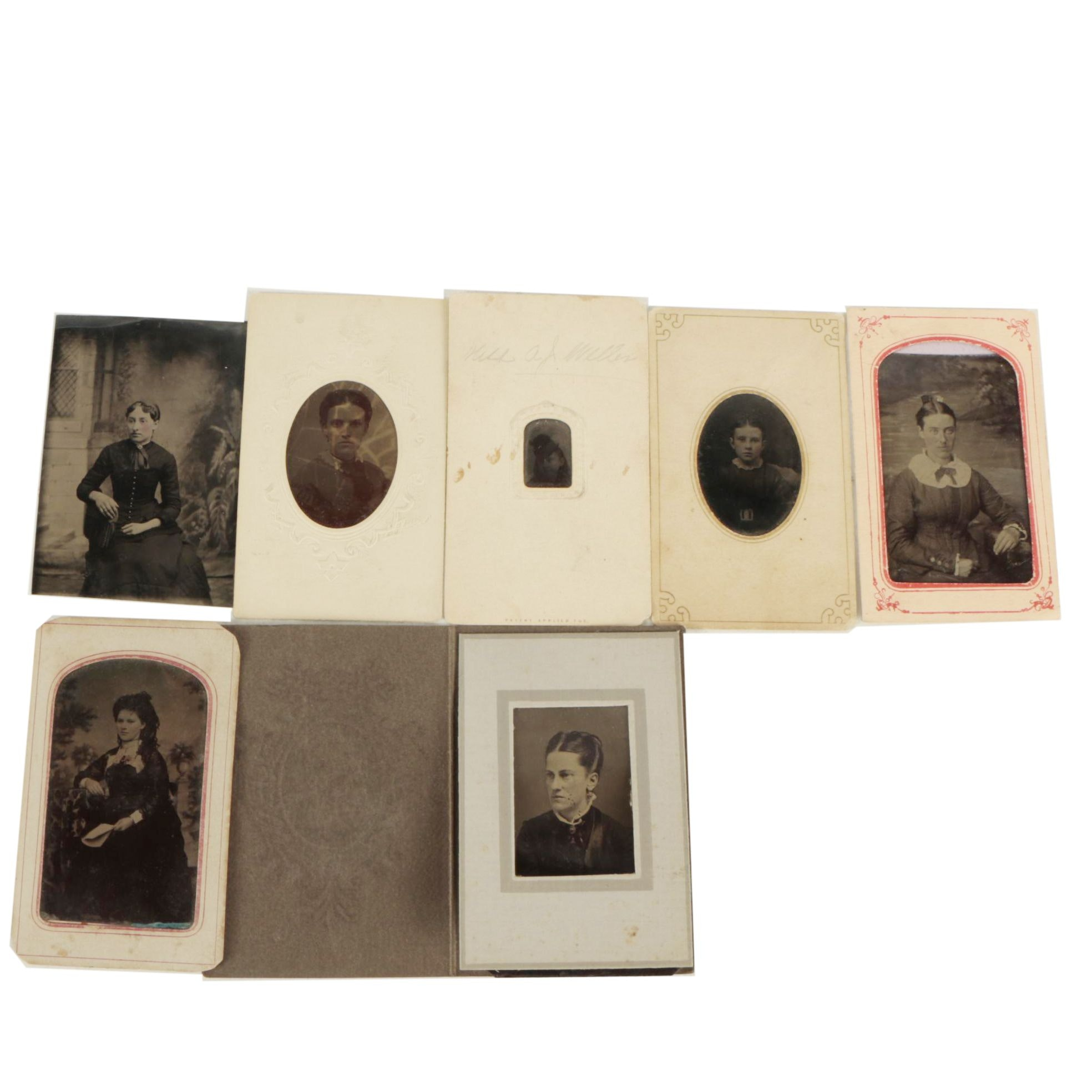 Antique Tintype Portraits