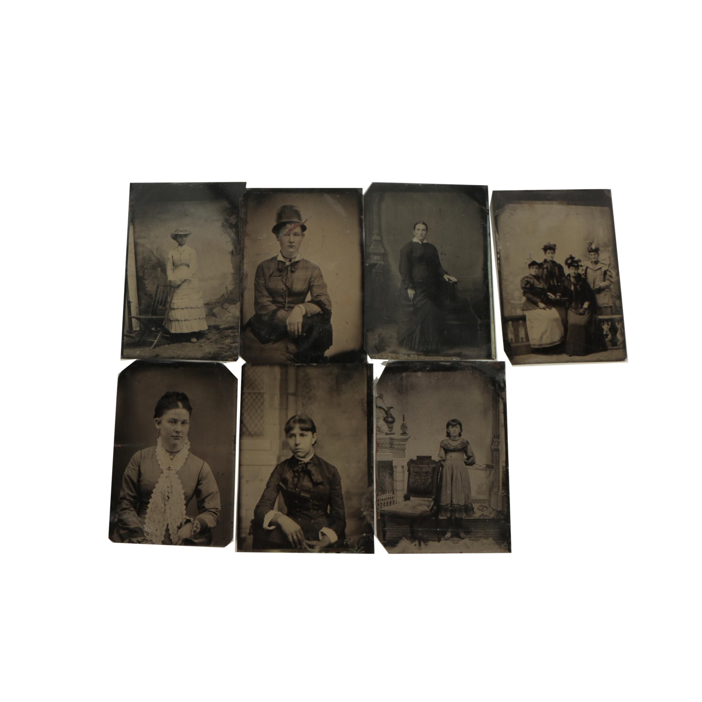 20th Century Tintype Photographs