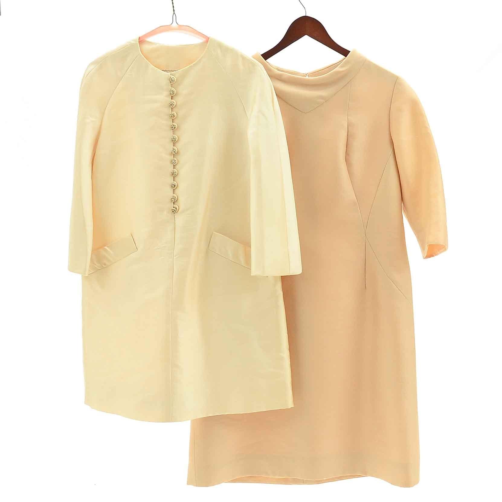 Vintage 1960s Silk Dresses